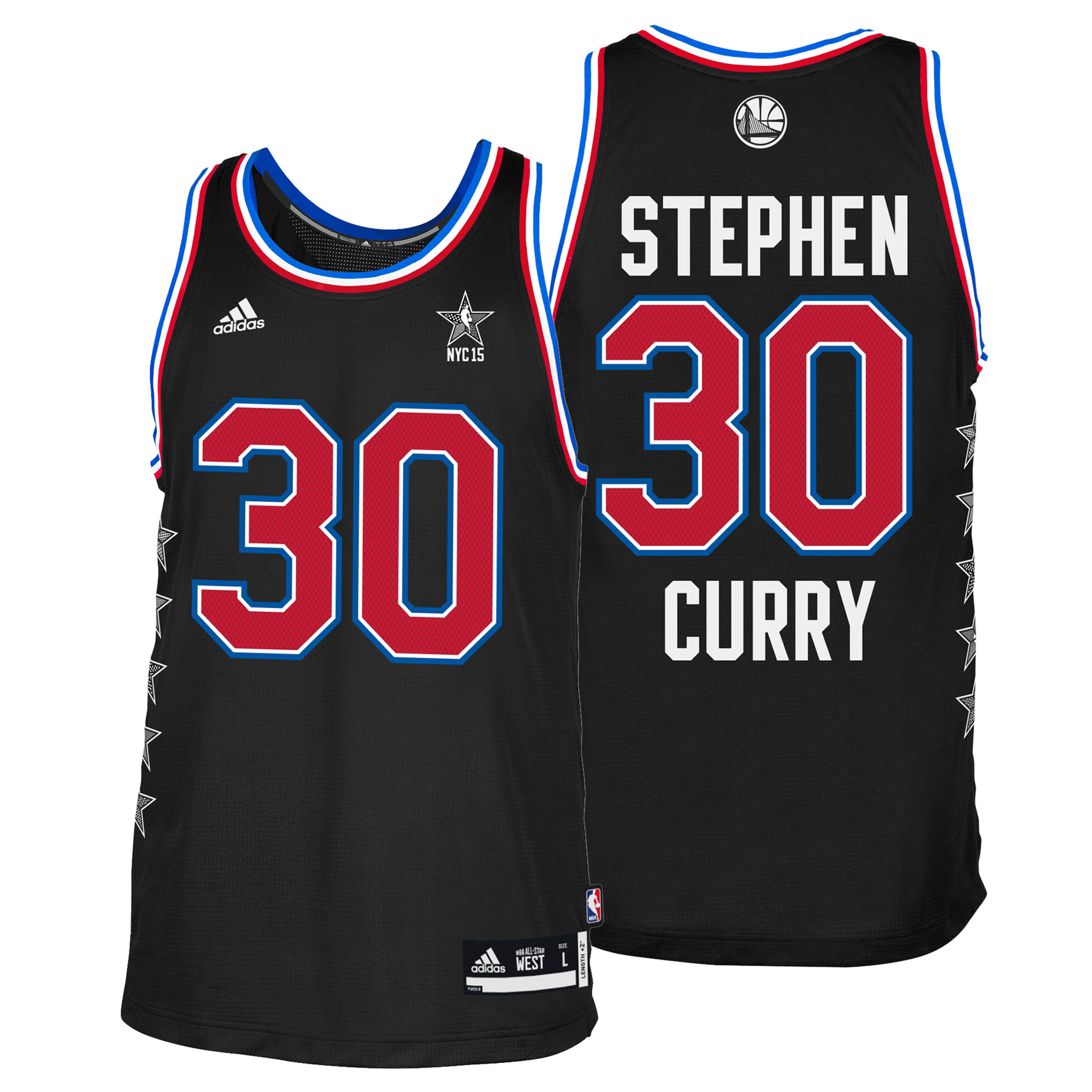 NBA All-Star 2015 West Swingman Jersey - Stephen Curry - Mens