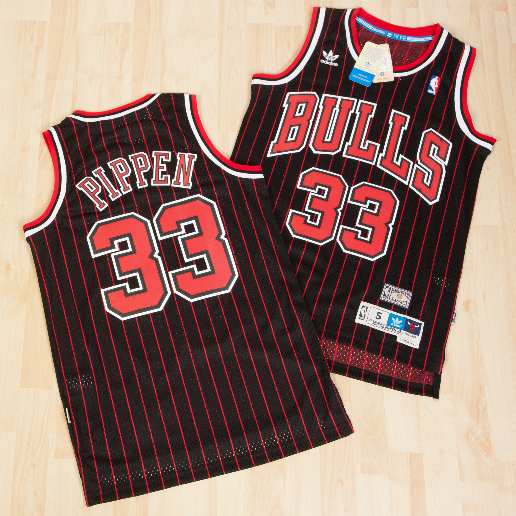 Chicago Bulls Alternate Soul Swingman Jersey - Scottie Pippen - Mens