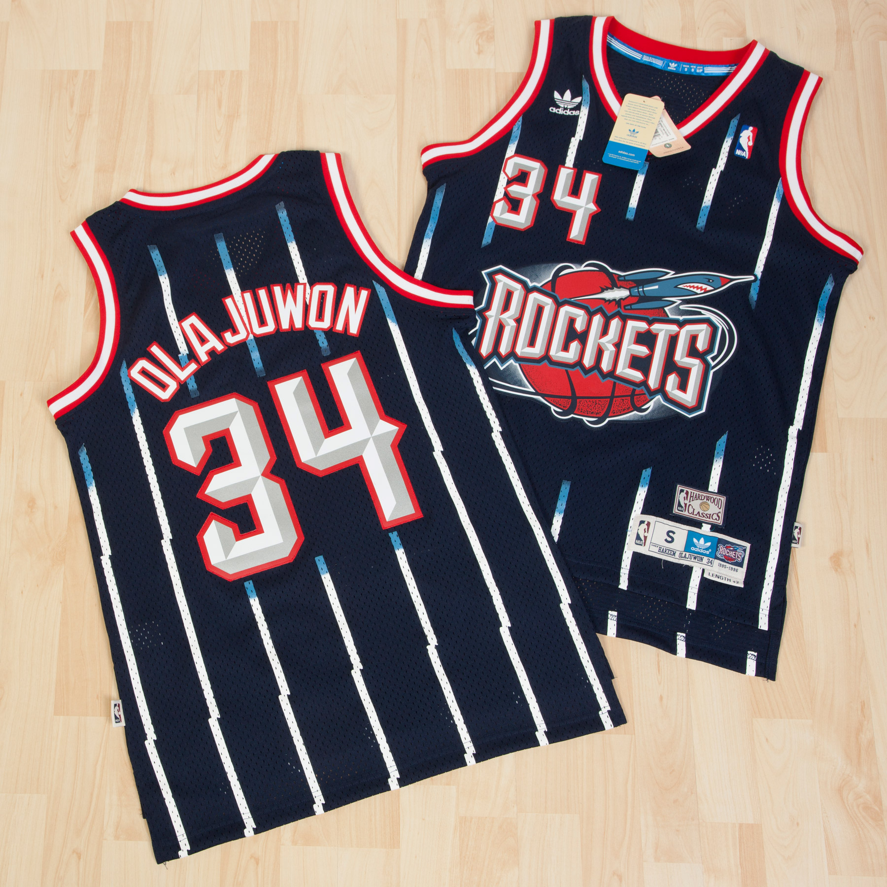 Houston Rockets Road Soul Swingman Jersey - Hakeem Olajuwon - Mens