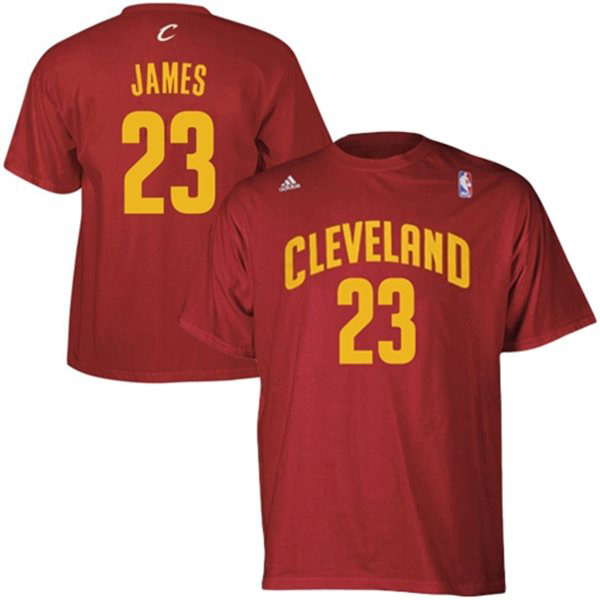 Cleveland Cavaliers Road Replica T-Shirt - Lebron James - Mens
