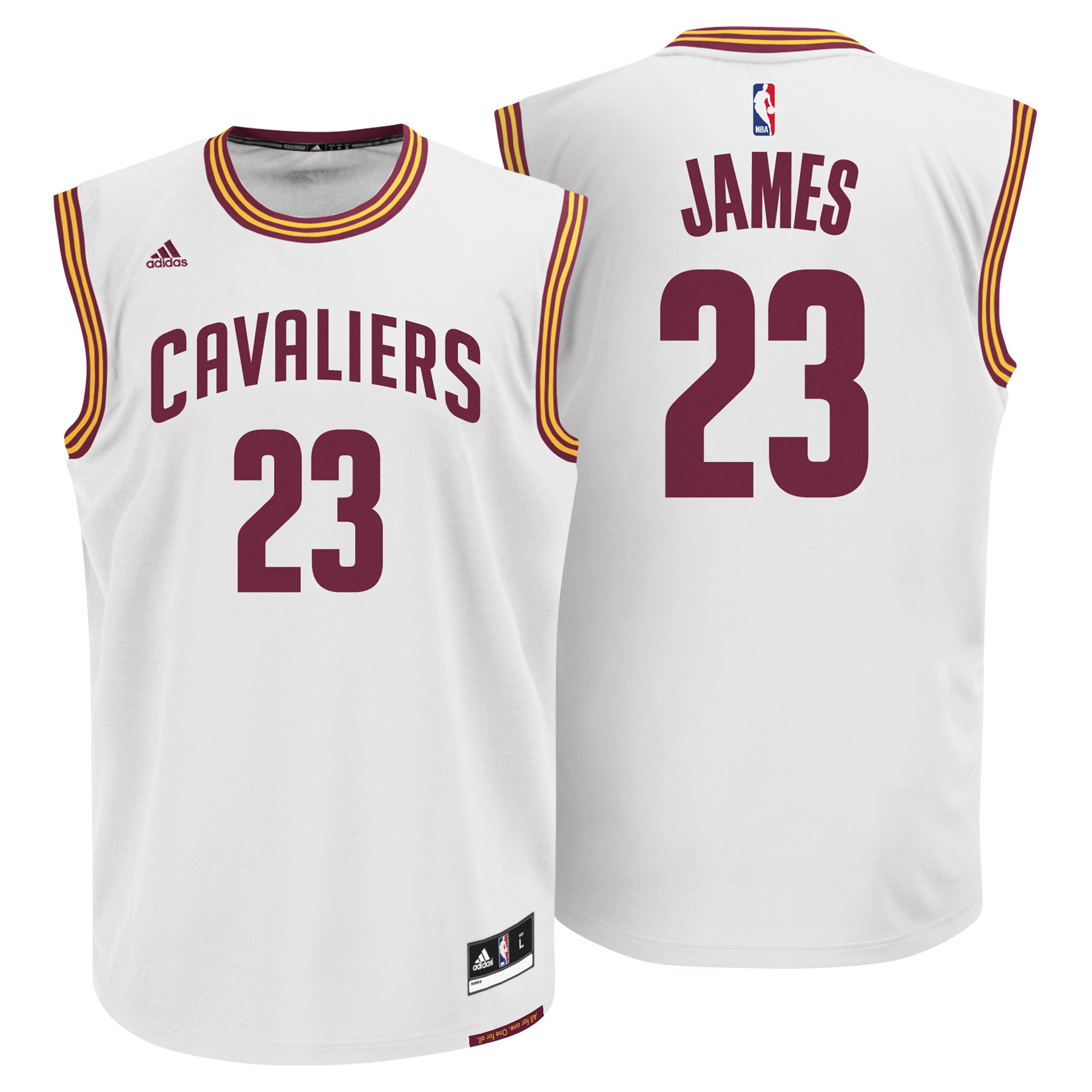 Cleveland Cavaliers Home Replica Jersey - Lebron James - Mens