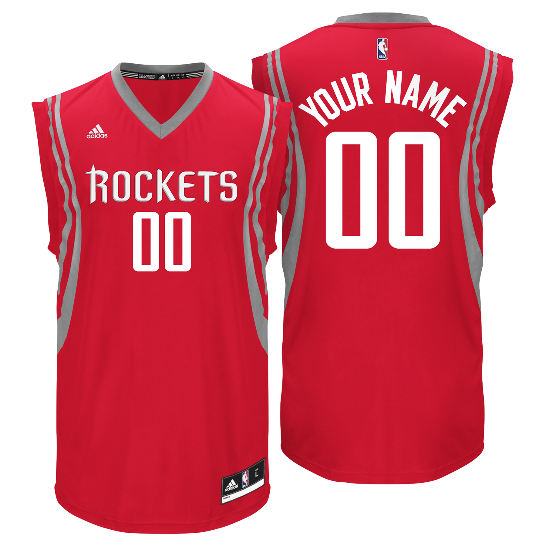 Houston Rockets Road Replica Jersey - Custom - Mens