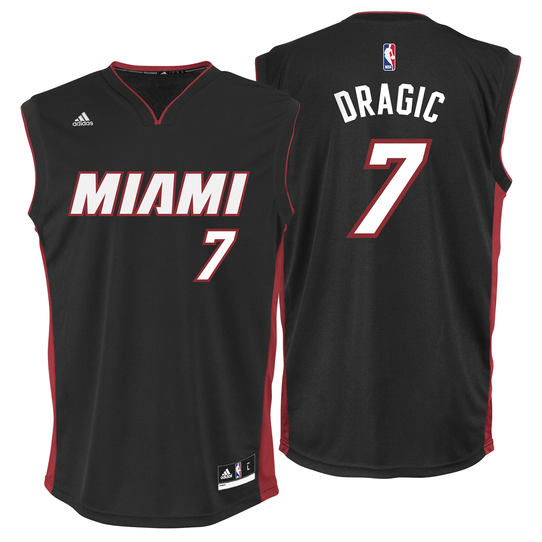 Image of Miami Heat Road Replica Jersey - Goran Dragic - Mens