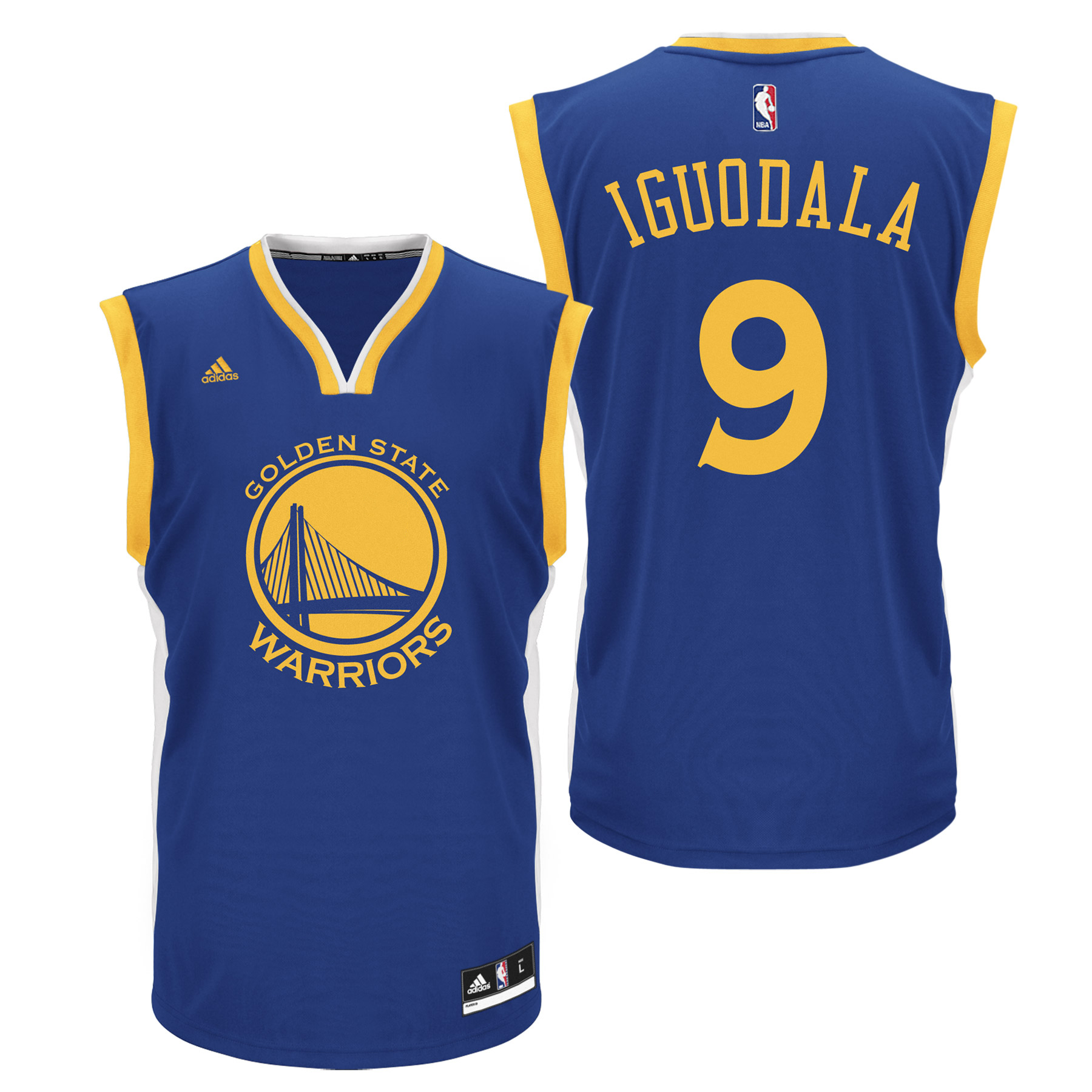 Golden State Warriors Road Replica Jersey - Andre Iguodala - Mens