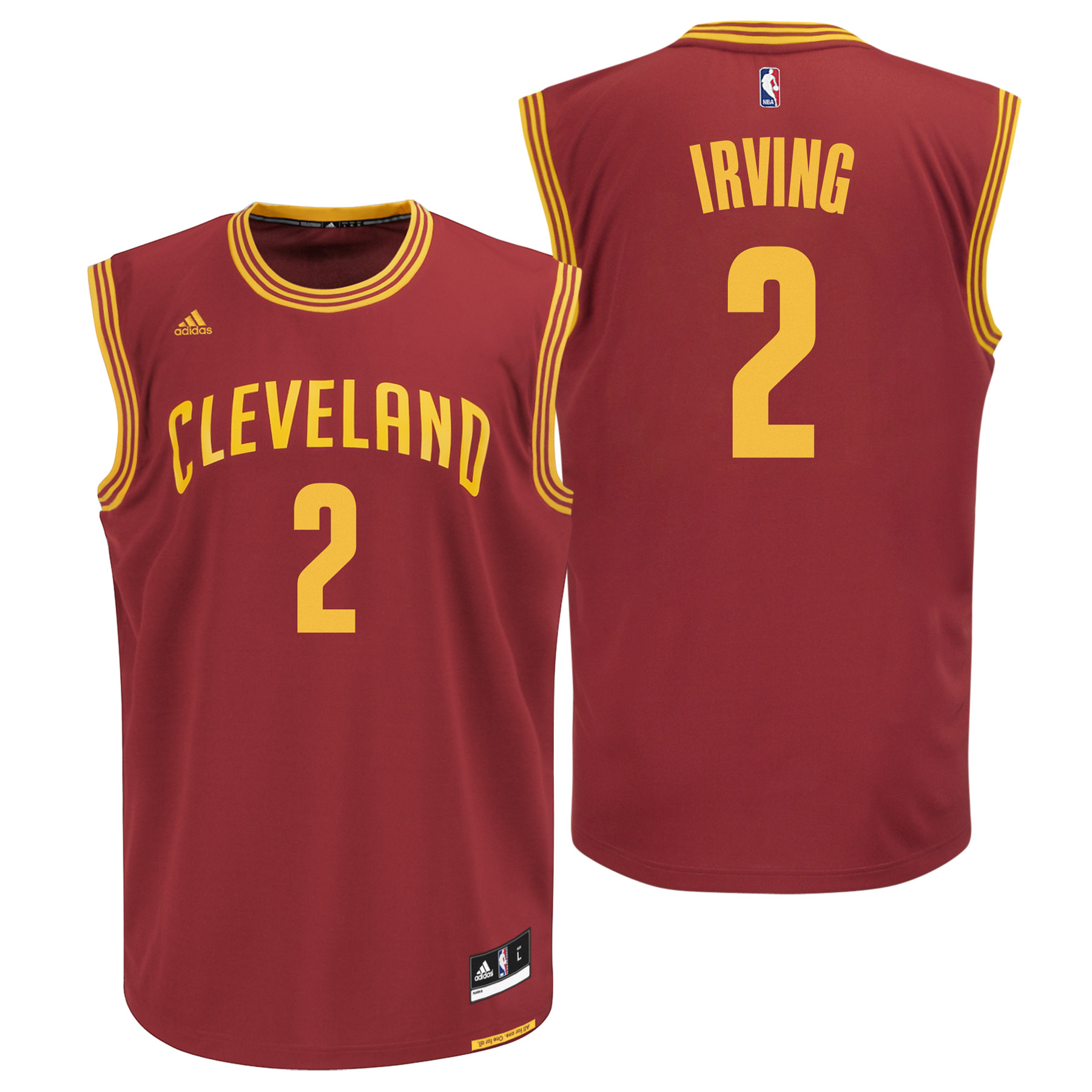 Cleveland Cavaliers Road Replica Jersey - Kyrie Irving - Mens