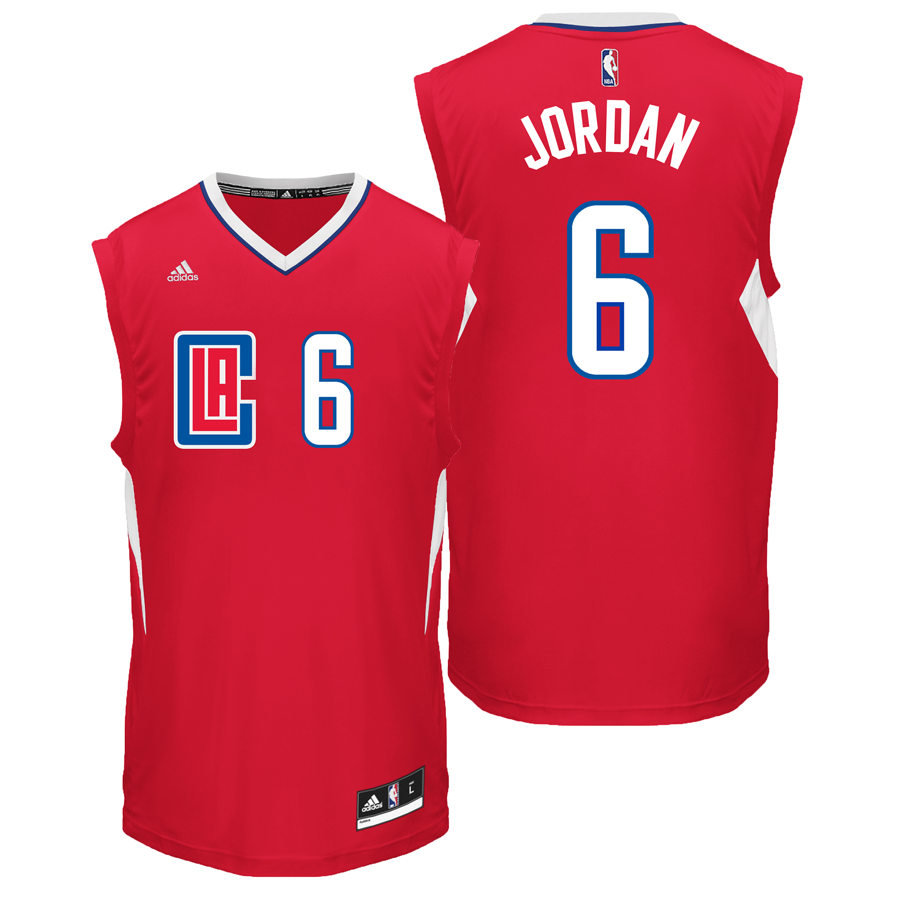 LA Clippers Road Replica Jersey - DeAndre Jordan - Mens