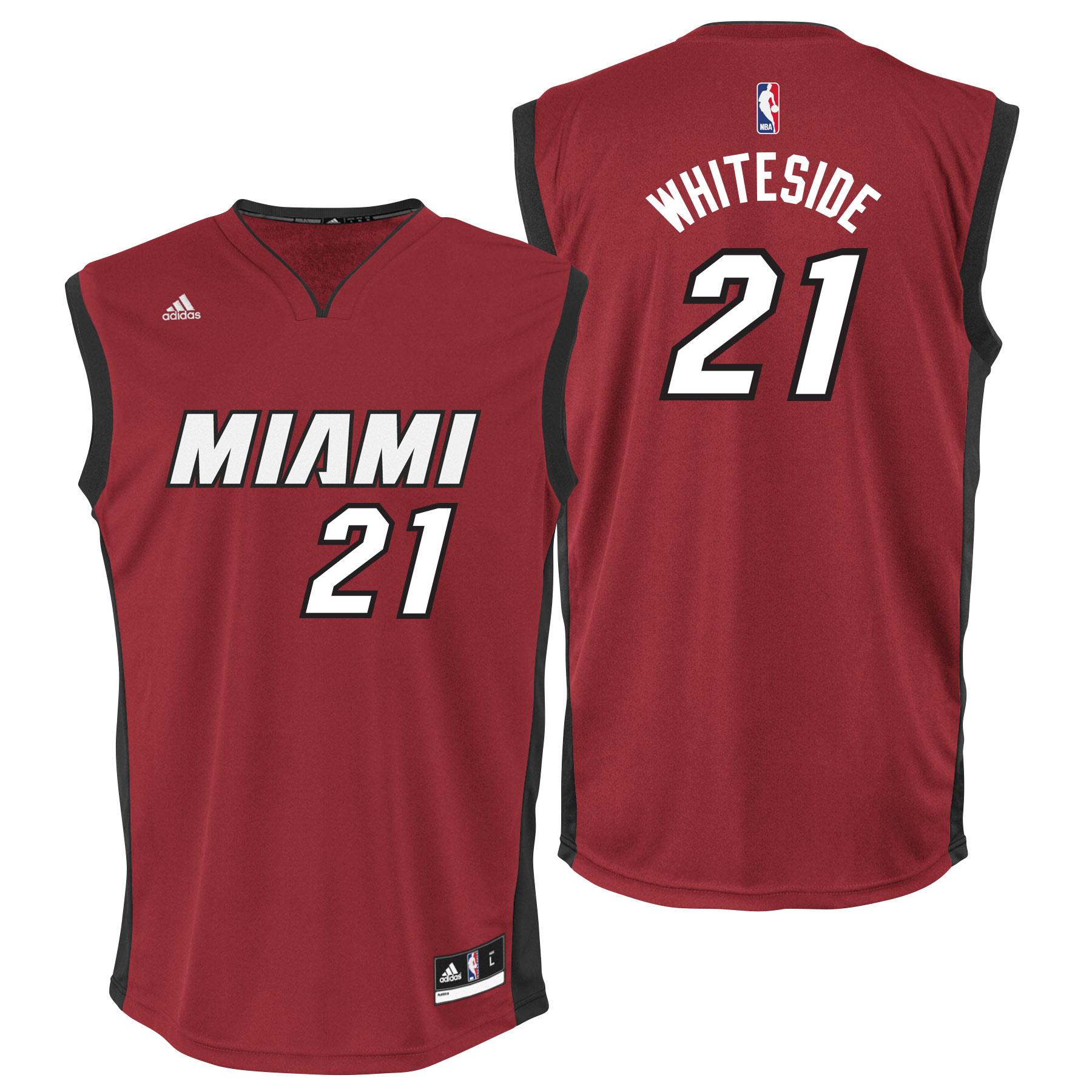 Miami Heat Alternate Replica Jersey - Hassan Whiteside - Mens