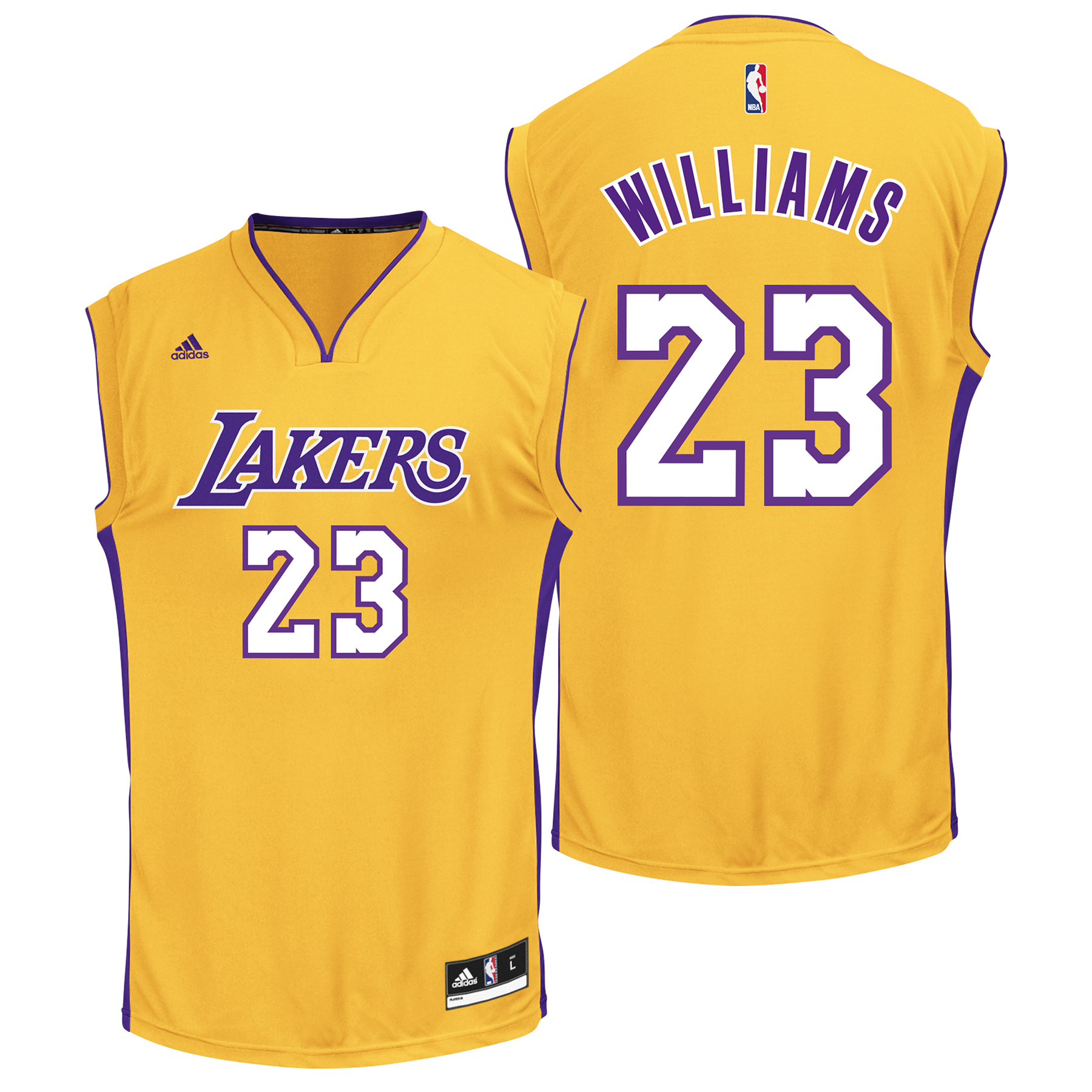 Los Angeles Lakers Home Replica Jersey - Louis Williams - Mens