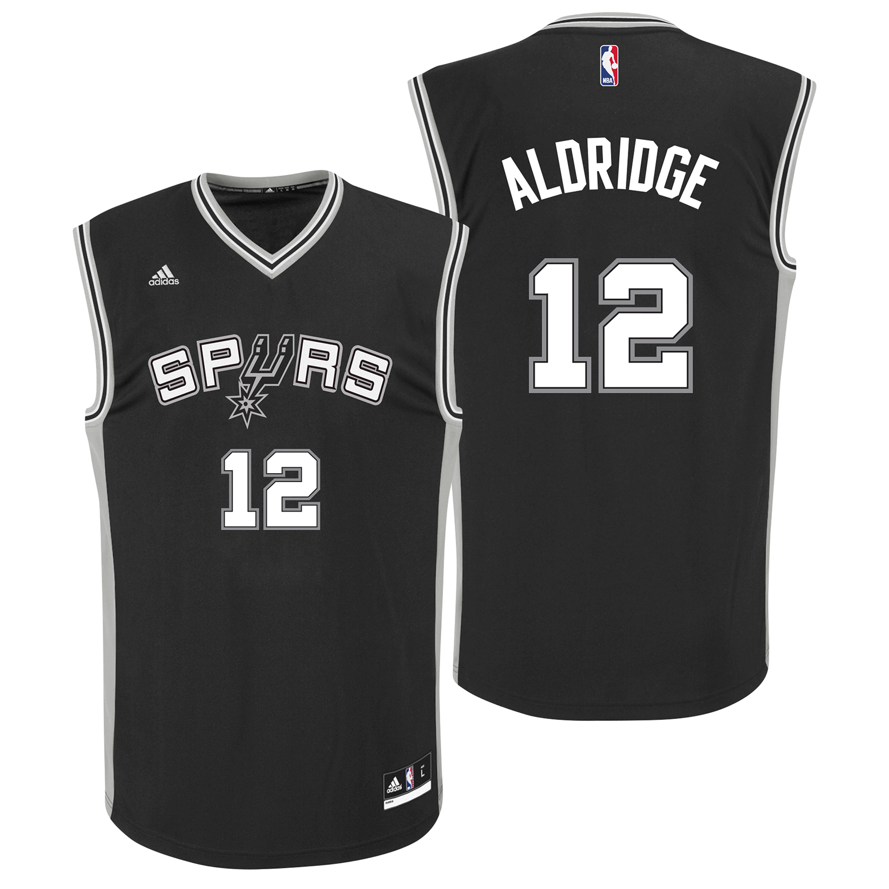 San Antonio Spurs Road Replica Jersey - LaMarcus Aldridge - Mens