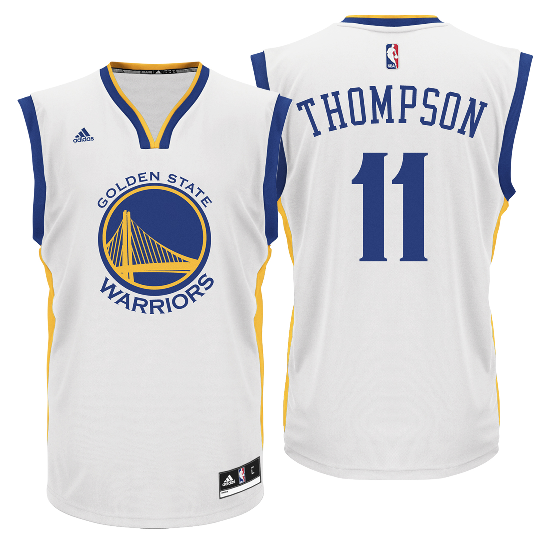 Golden State Warriors Home Replica Jersey - Klay Thompson - Mens