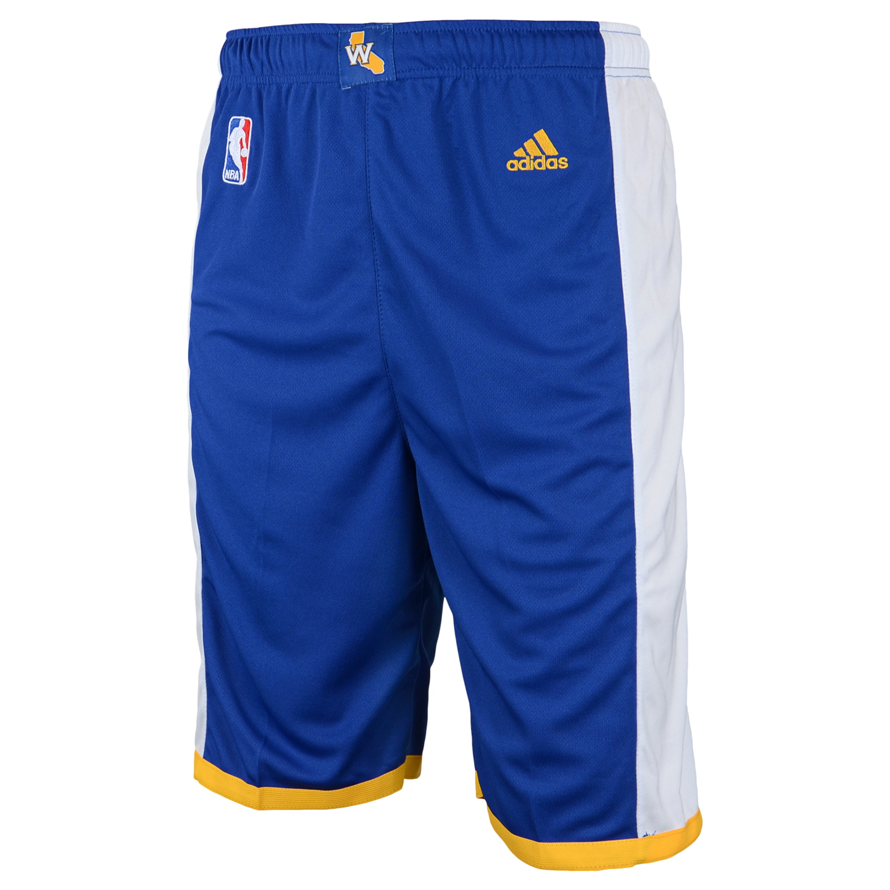 Golden State Warriors Road Replica Shorts - Youth