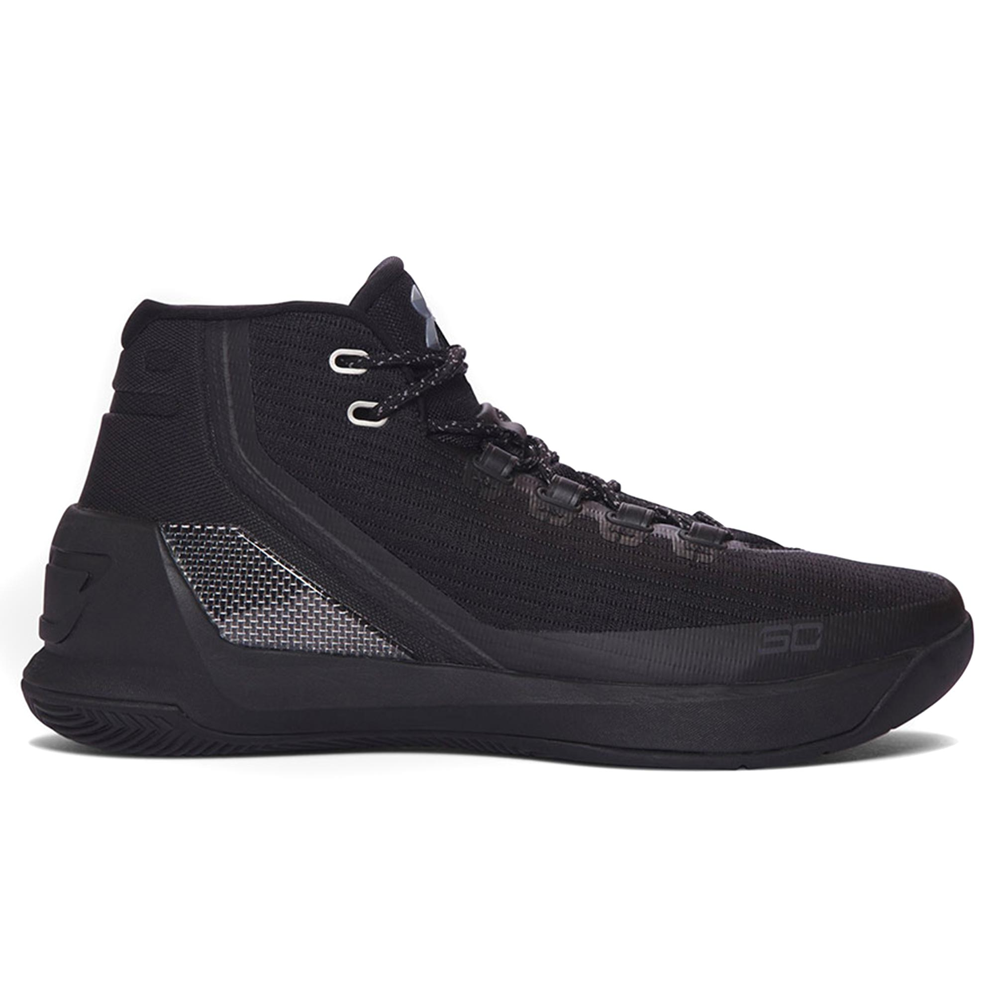 Under Armour Curry 3 Basketball Shoe - Triple Black