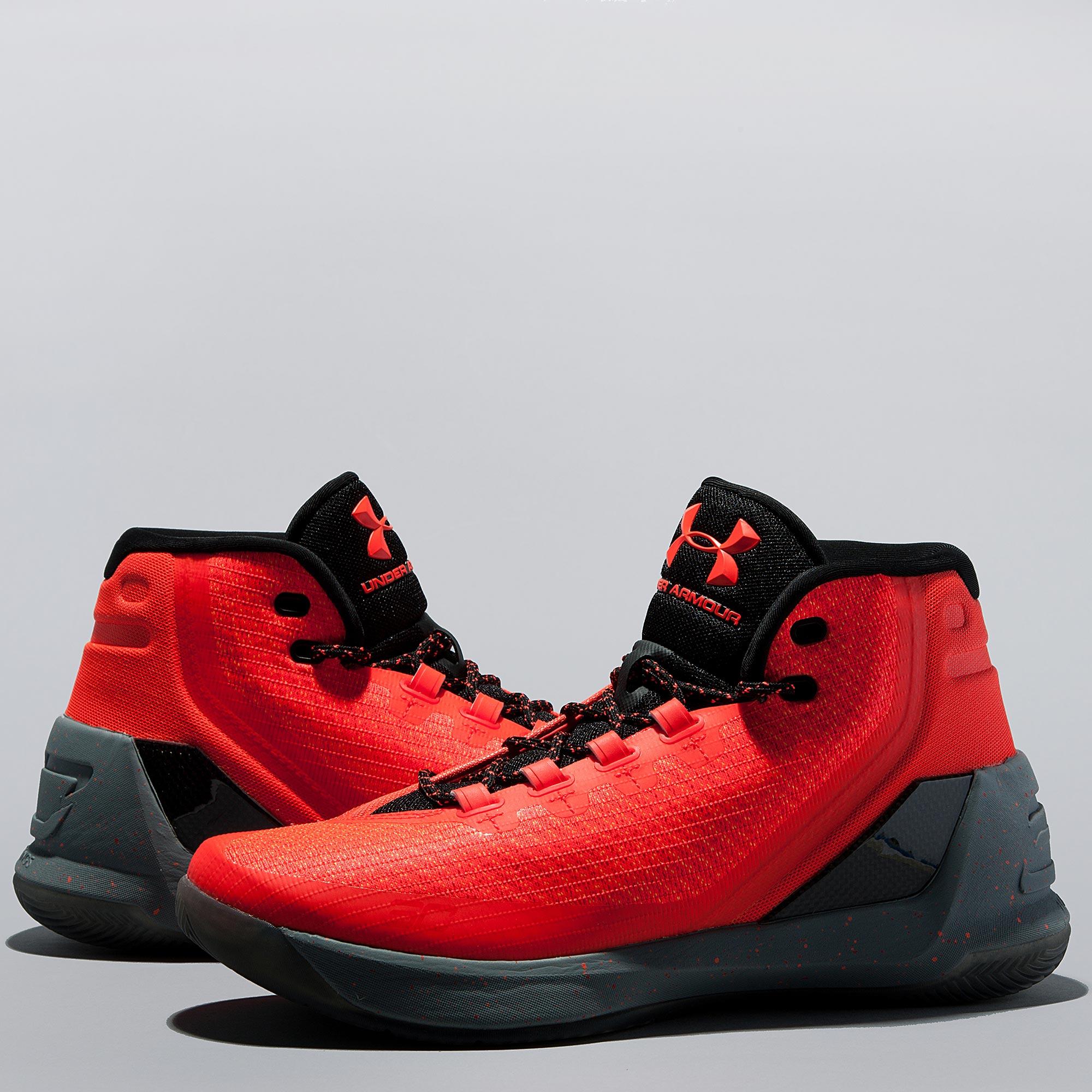 Under Armour Curry 3 Basketball Shoe - Human Torchbolt
