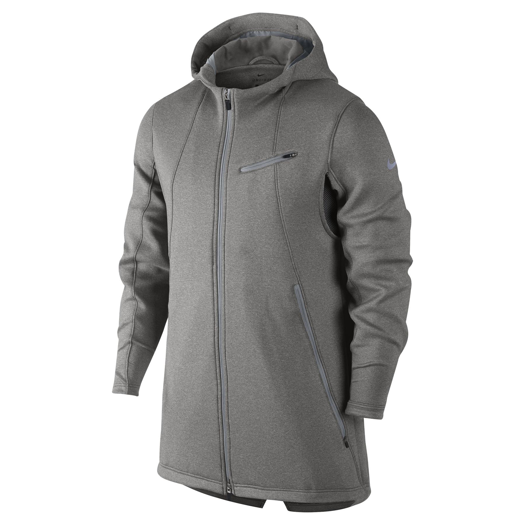 Nike Therma Sphere KD Jacket - Dark Grey Heather