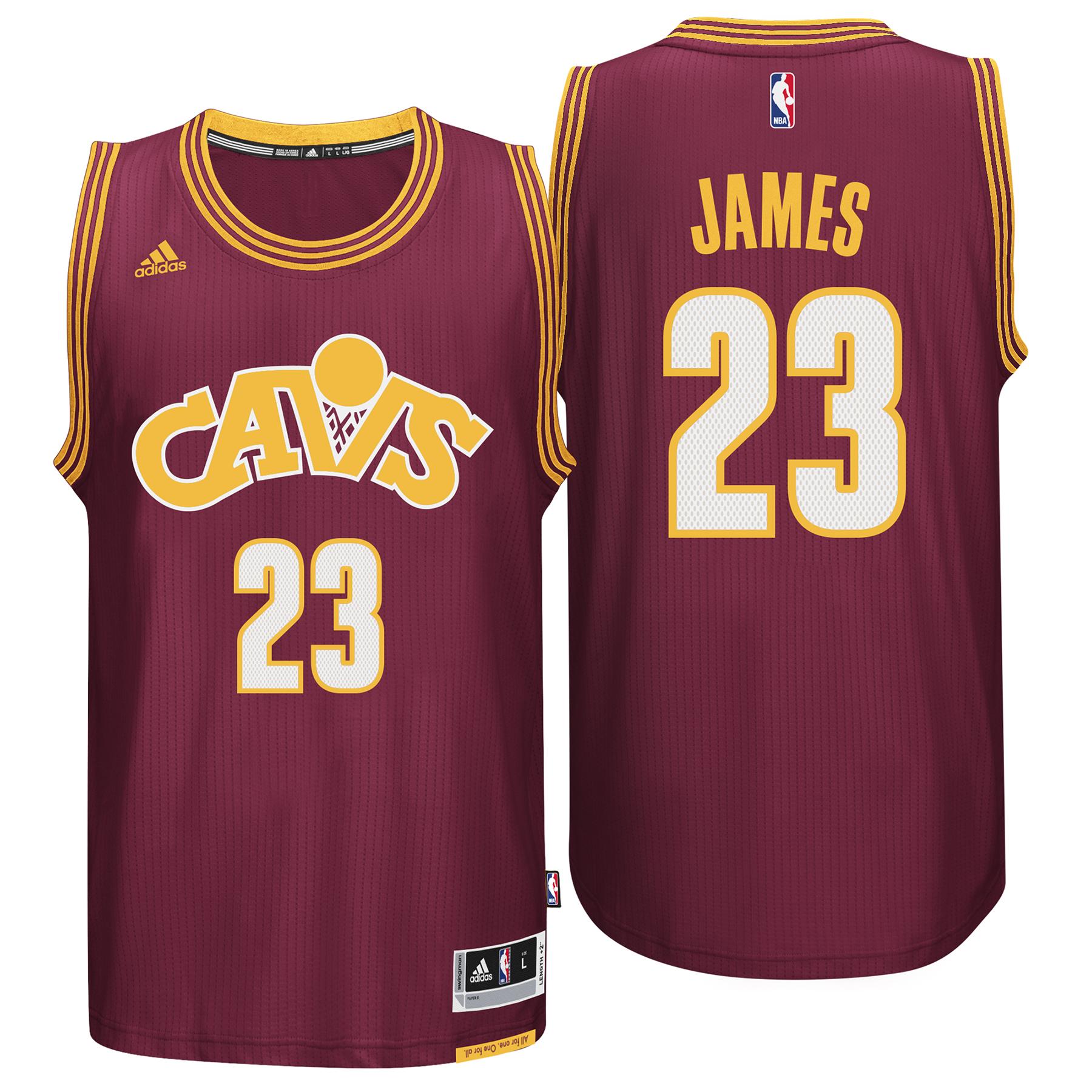 Cleveland Cavaliers Road Stretch Swingman Jersey - Lebron James - Mens