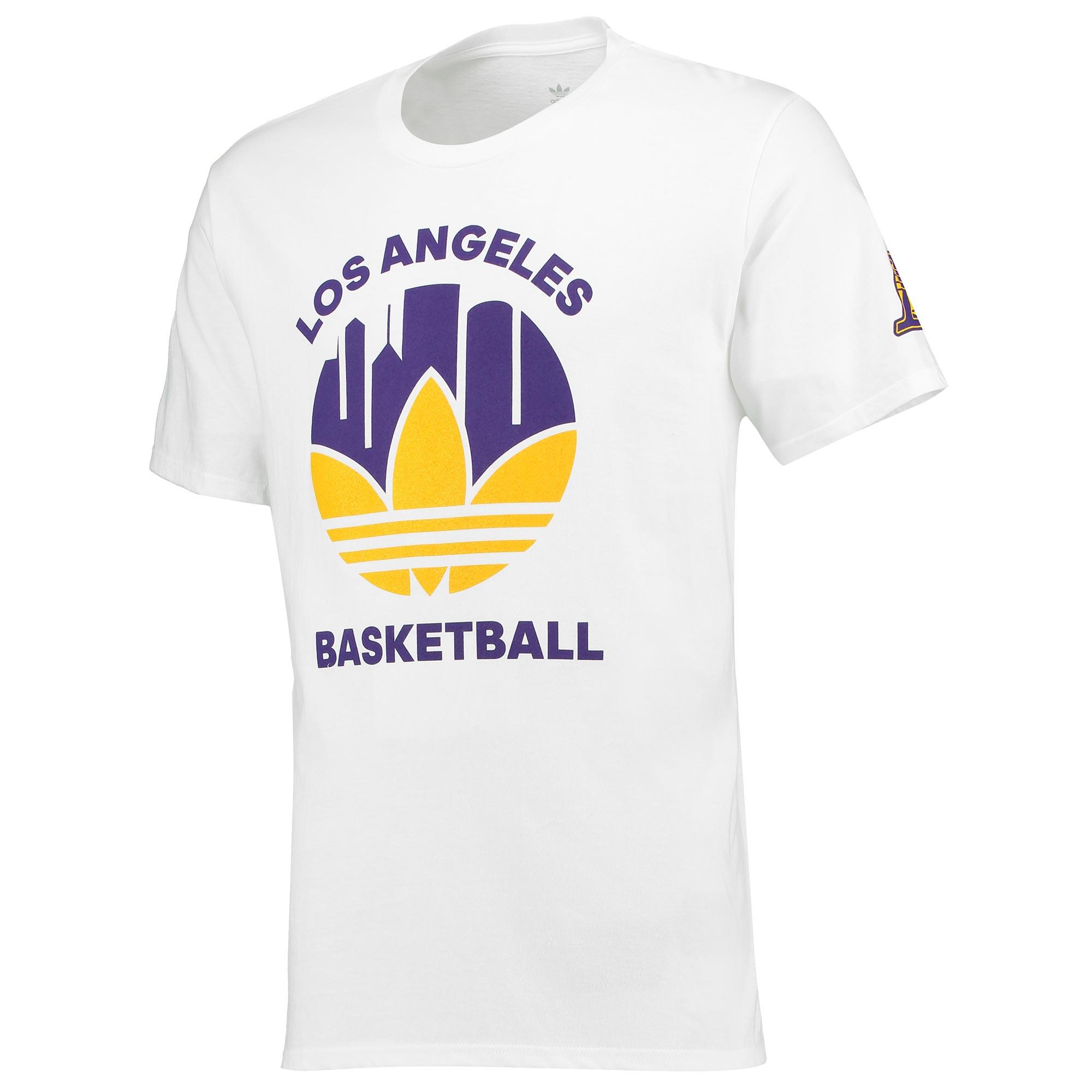 Los Angeles Lakers Originals Trefoil City T-Shirt