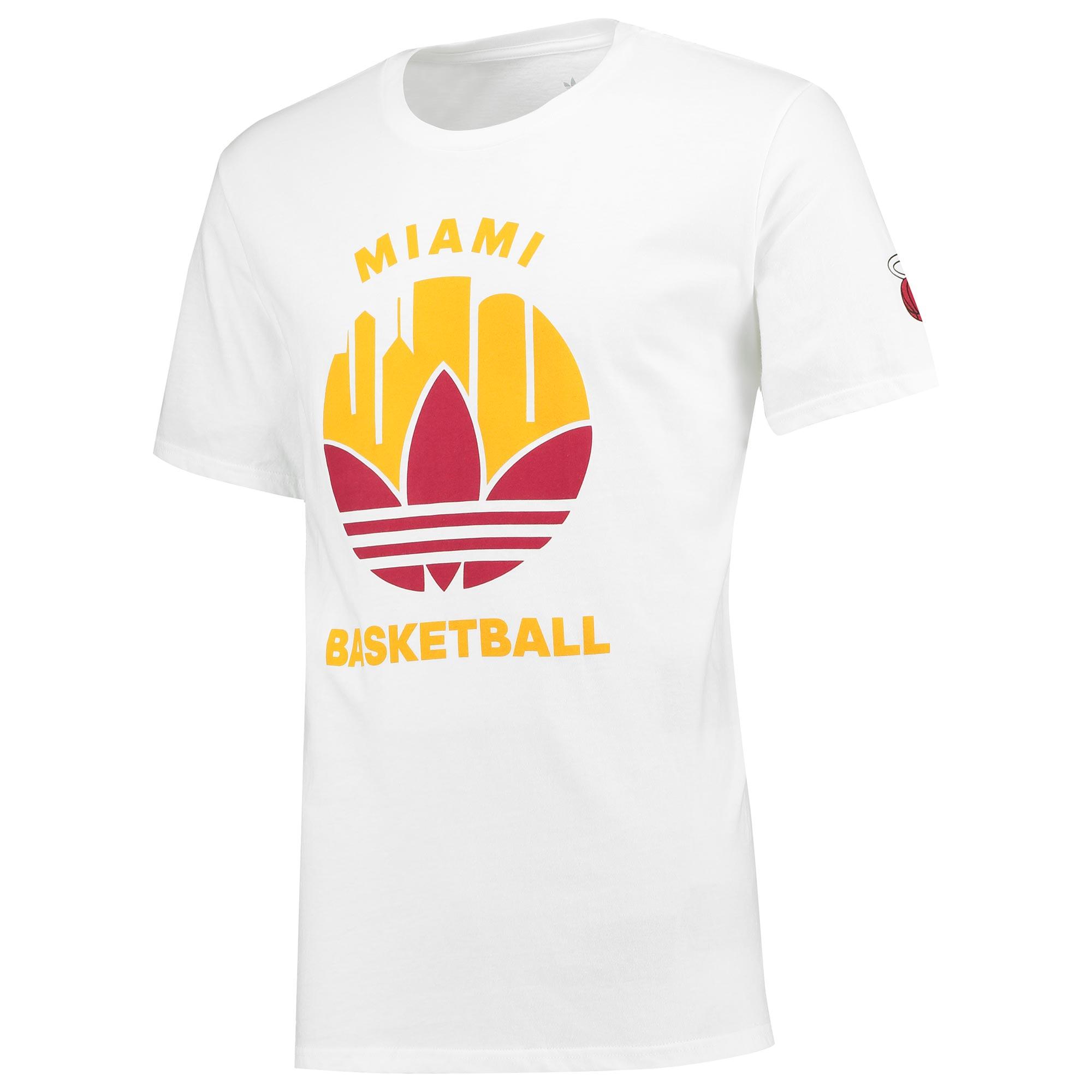 Miami Heat Originals Trefoil City T-Shirt