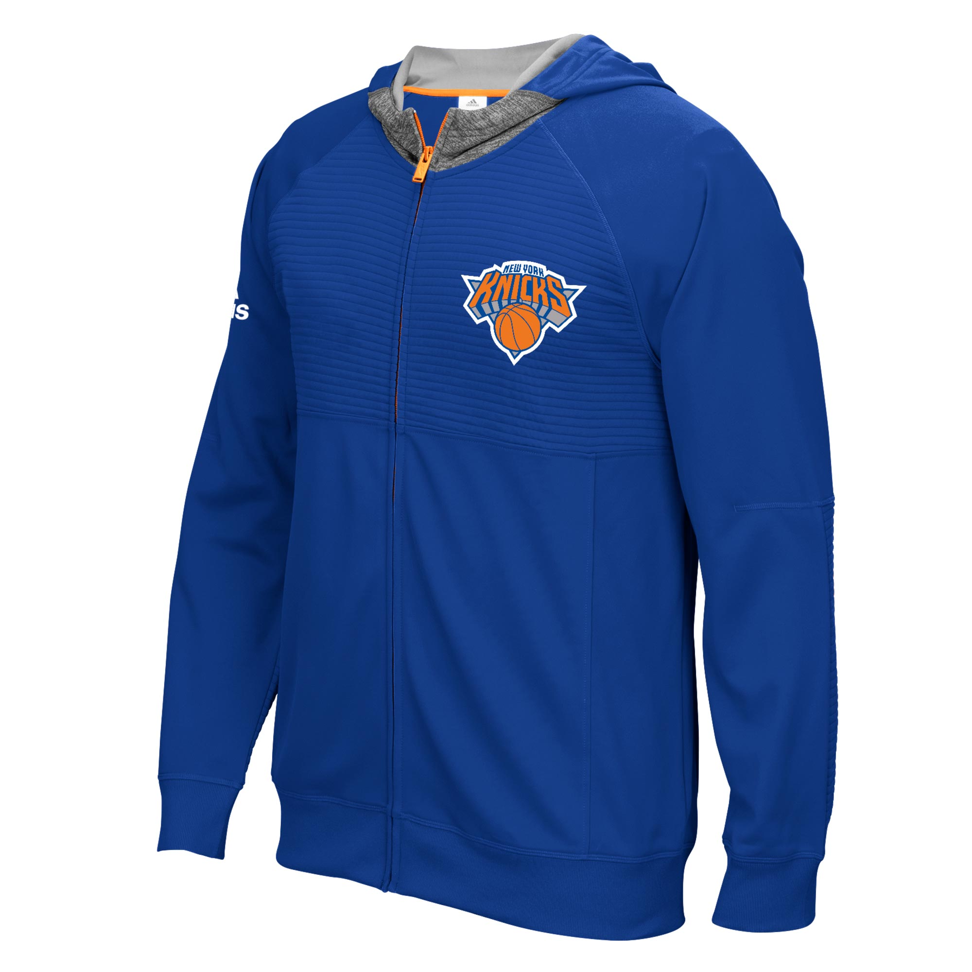 New York Knicks Pre-Game Hooded Jacket 2016-17 - Youth
