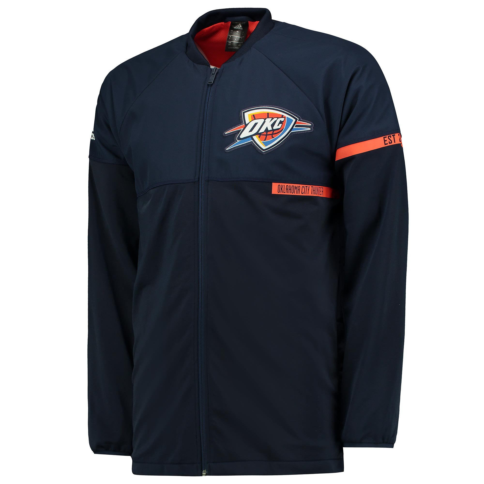 Oklahoma City Thunder On-Court Jacket 2016-17