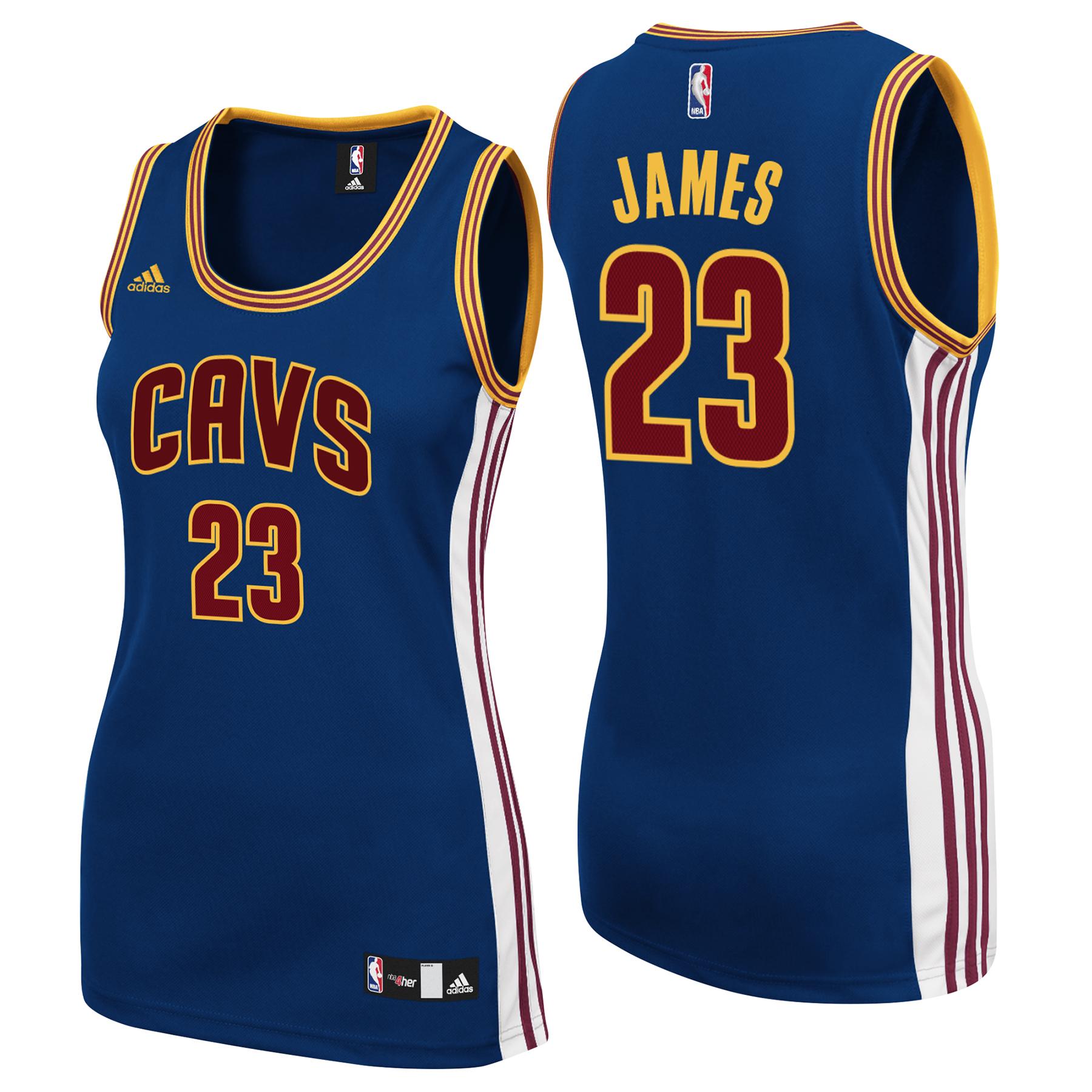 Cleveland Cavaliers Secondary Alternate Replica Jersey - Lebron James