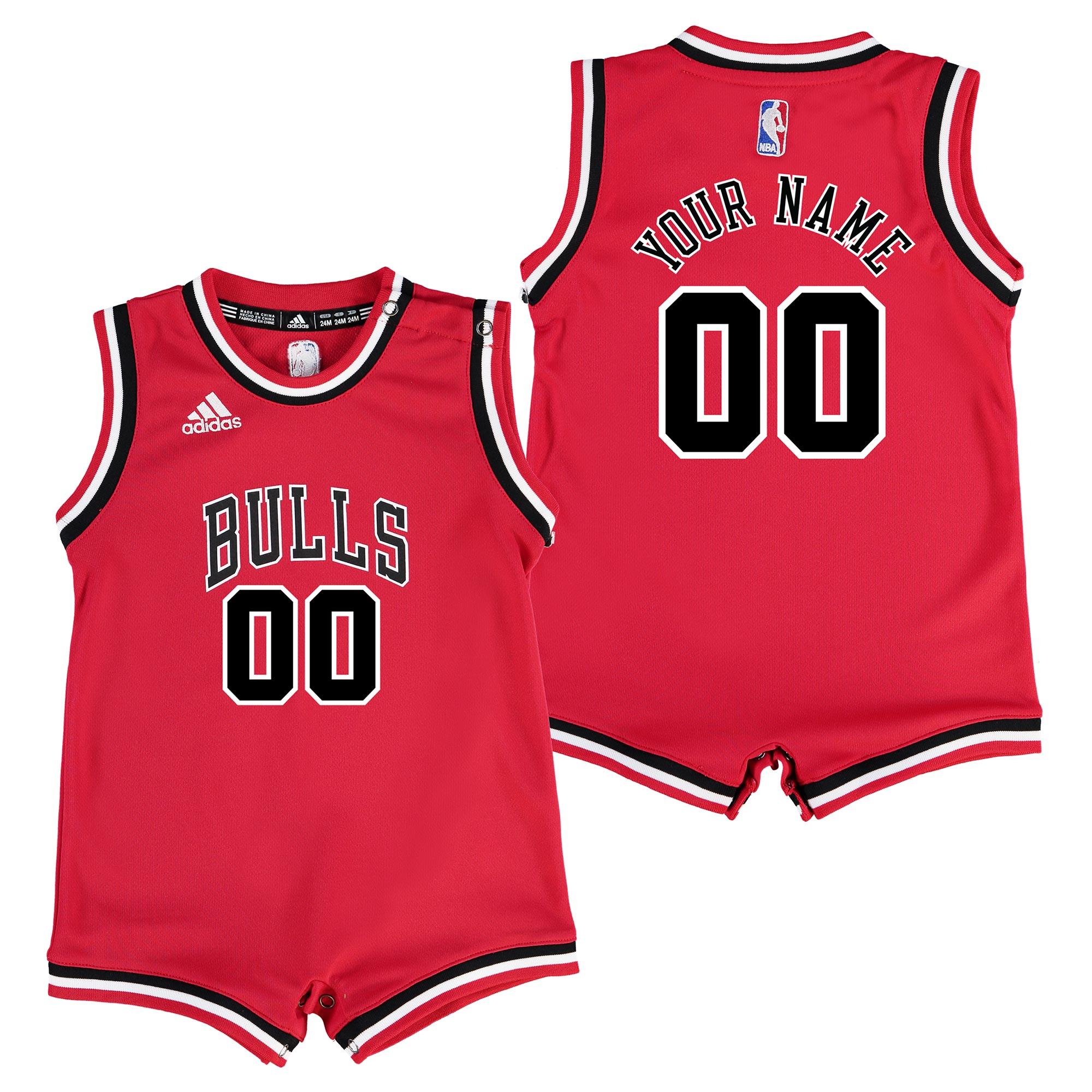 Chicago Bulls Road Replica Jersey - Custom - Infant