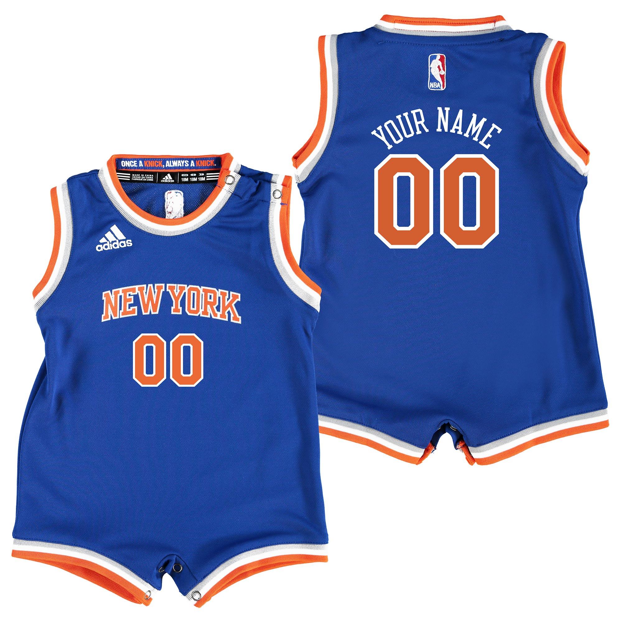 New York Knicks Road Replica Jersey - Custom - Infant