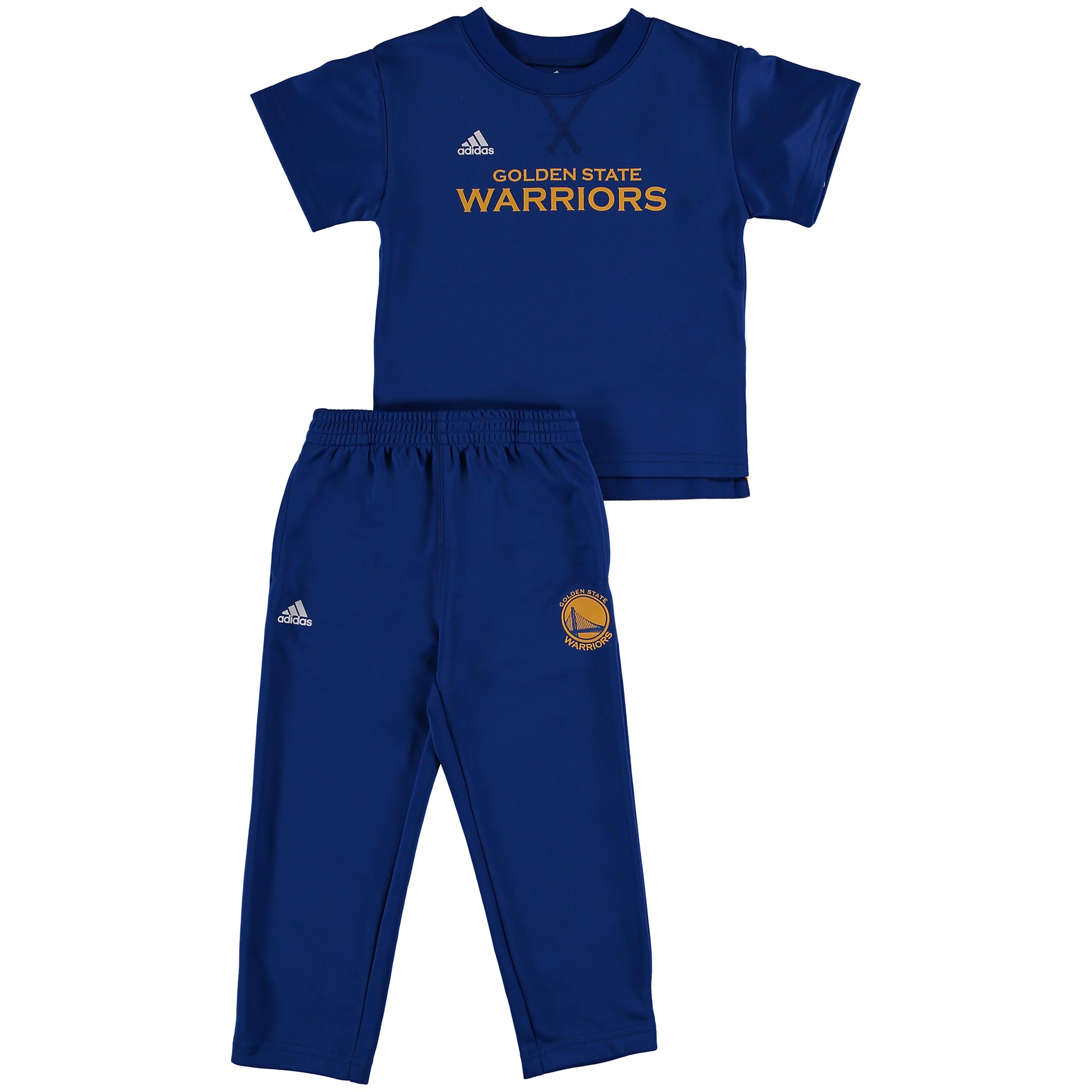 Golden State Warriors Courtside Tracksuit - Toddler