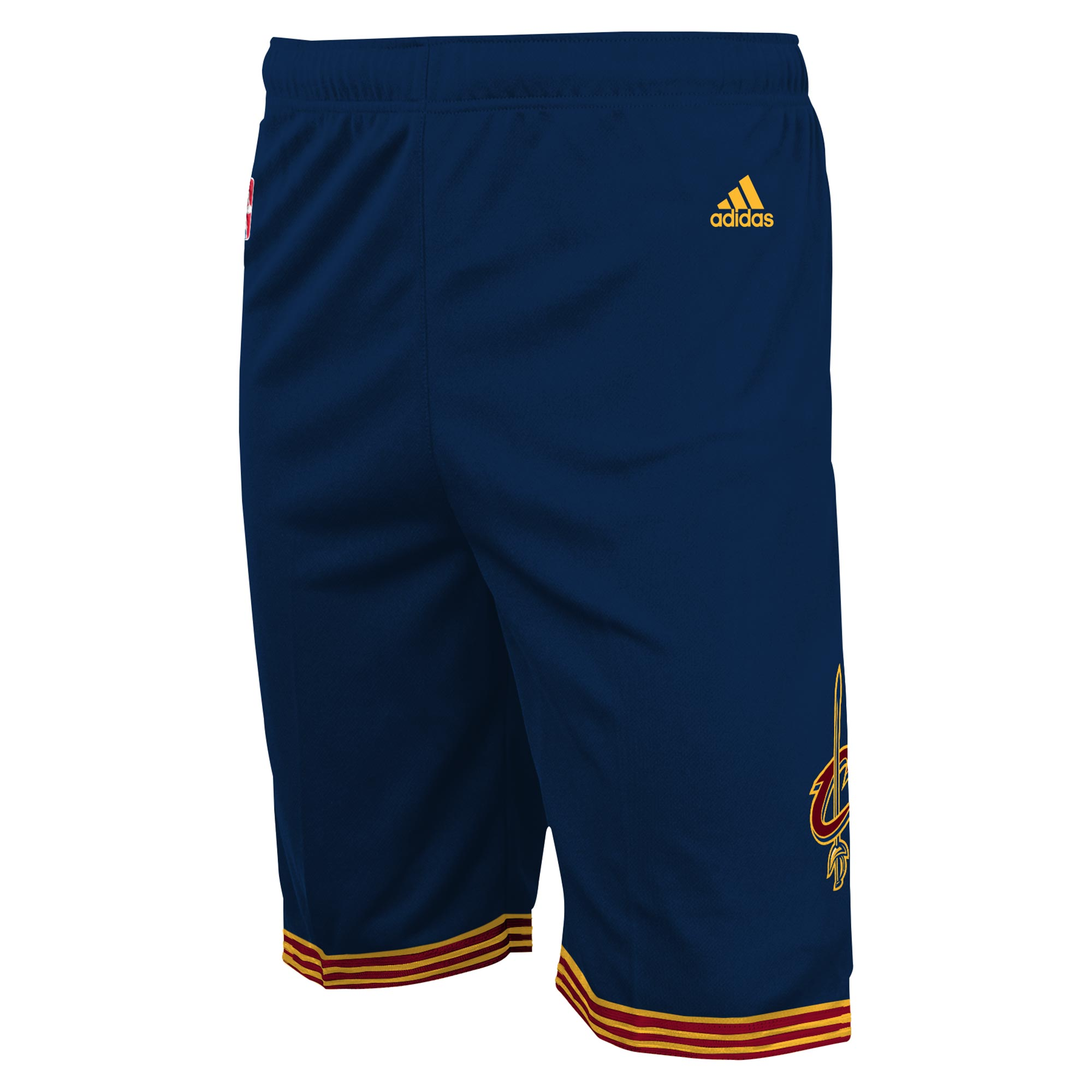 Cleveland Cavaliers Road Alternate Replica Shorts - Youth