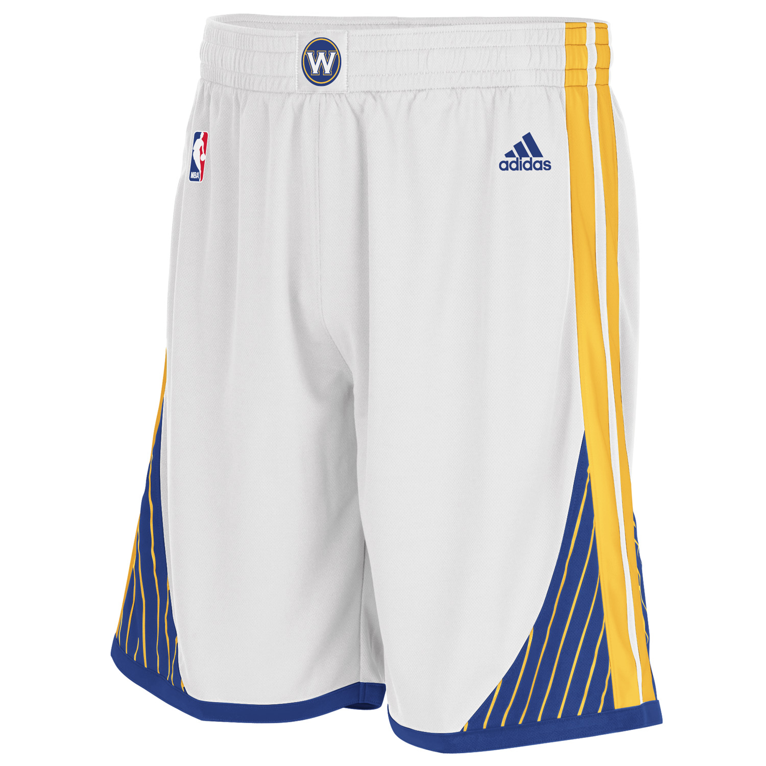 Golden State Warriors Home Swingman Shorts - Youths