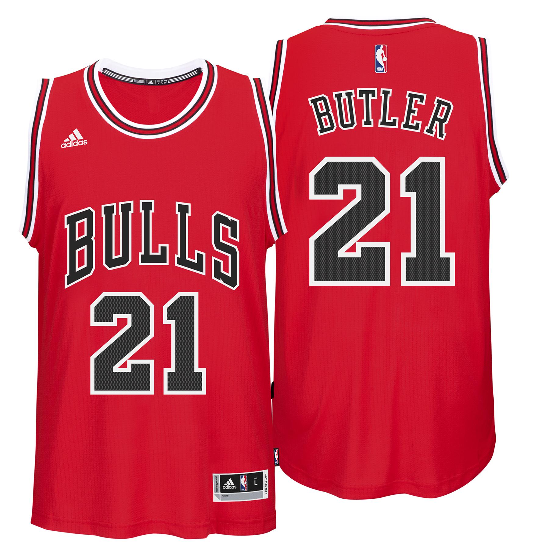 Chicago Bulls Road Swingman Jersey - Jimmy Butler - Youths