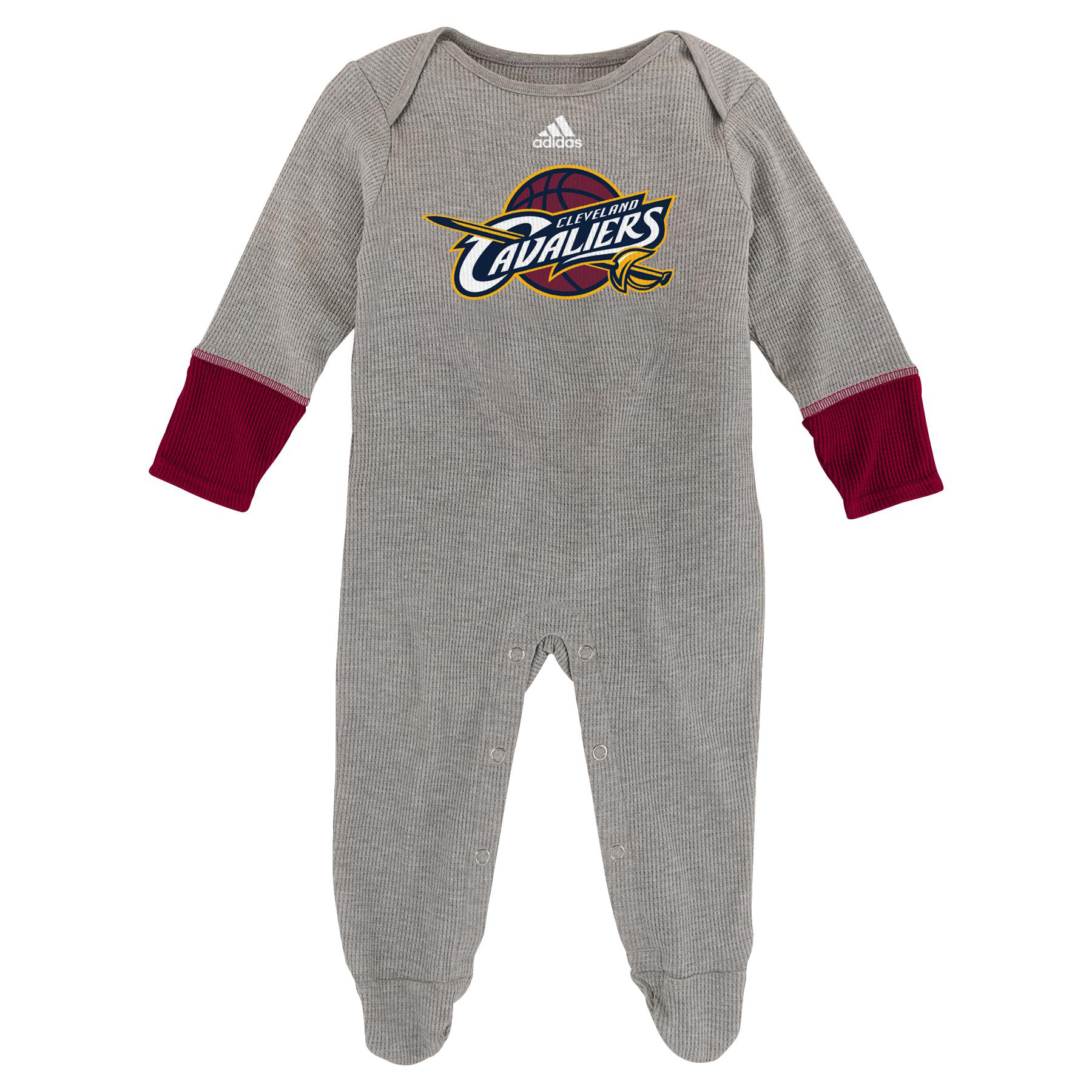 Cleveland Cavaliers Mitted Bodysuit - New Born