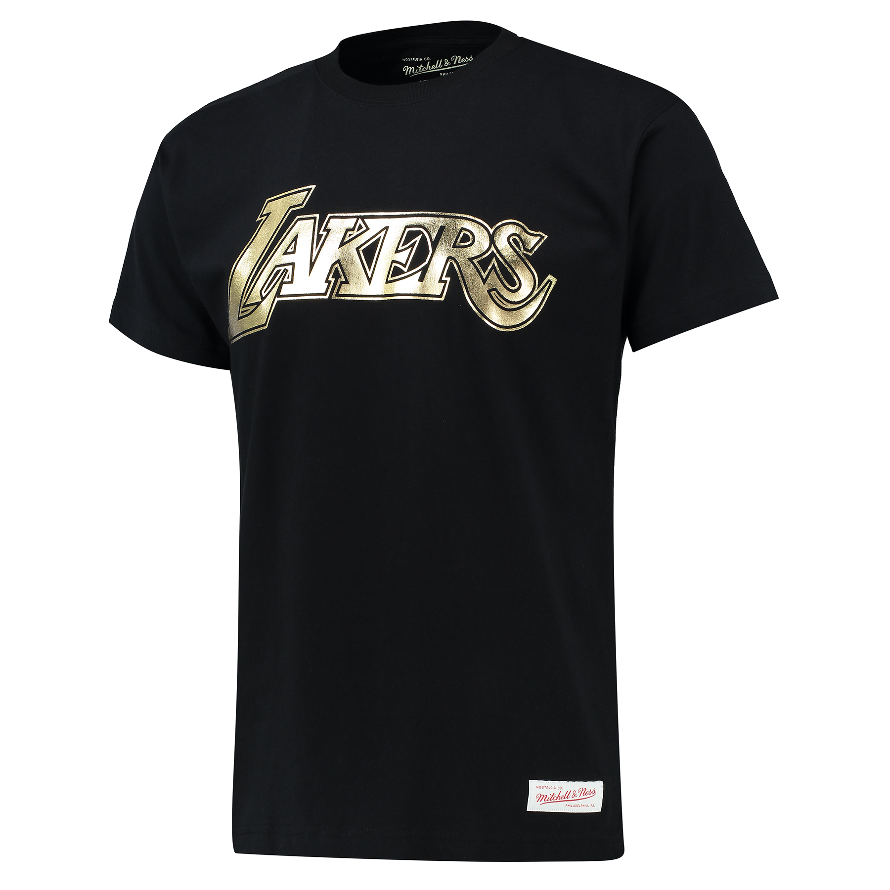 Los Angeles Lakers Kobe Bryant Retirement Gold Foil T-Shirt