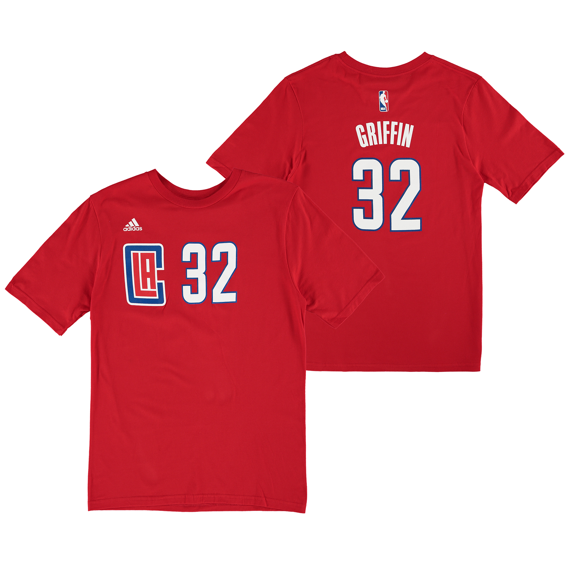 LA Clippers adidas Name & Number T-Shirt - Blake Griffin - Youth