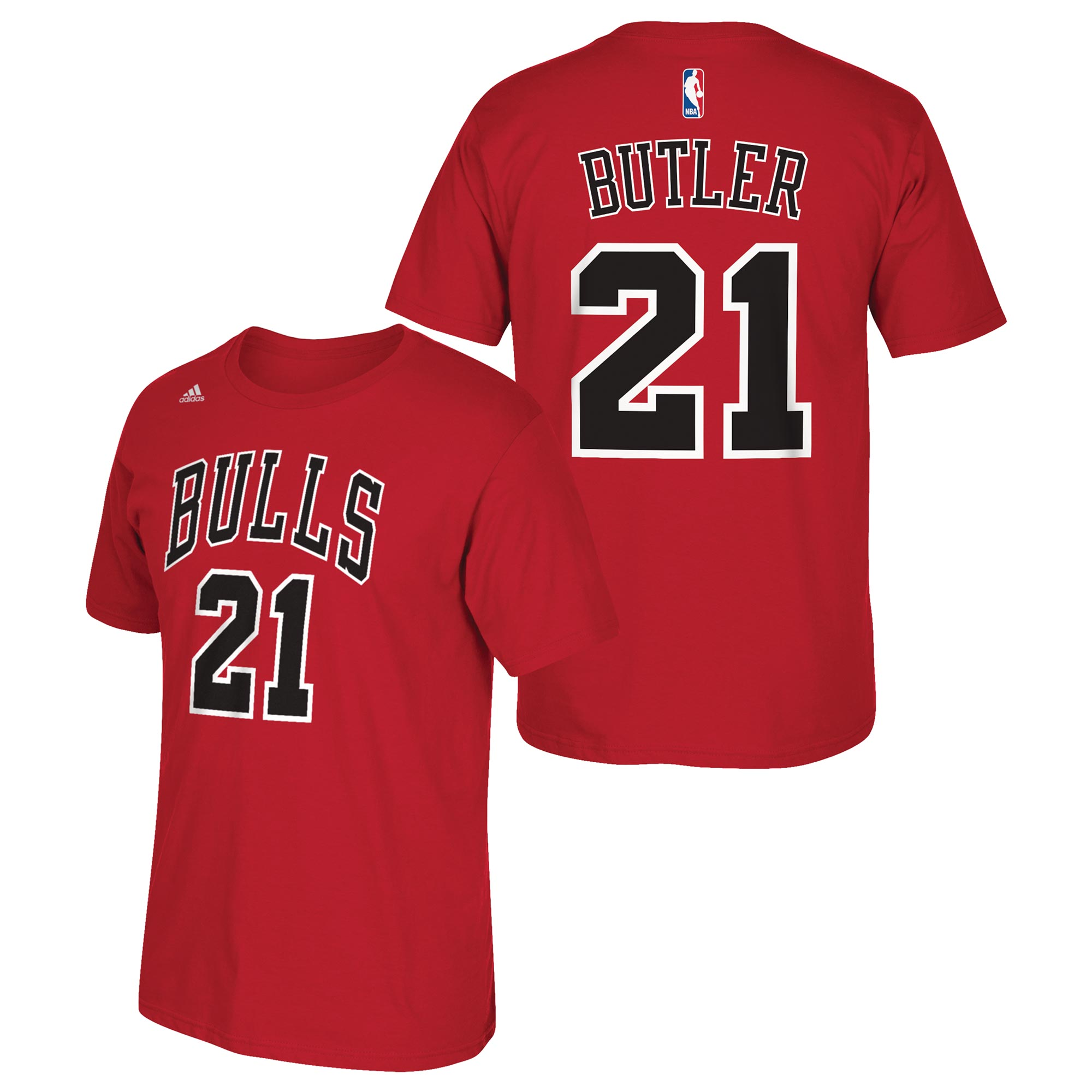 Chicago Bulls adidas Name & Number T-Shirt - Jimmy Butler