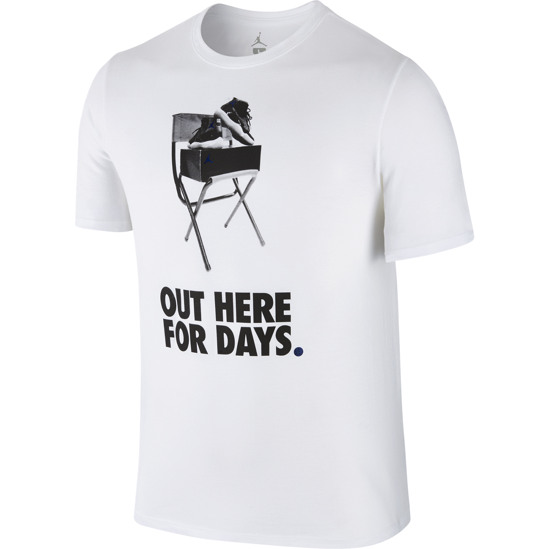 Jordan Campd Out T-Shirt -White/Concord