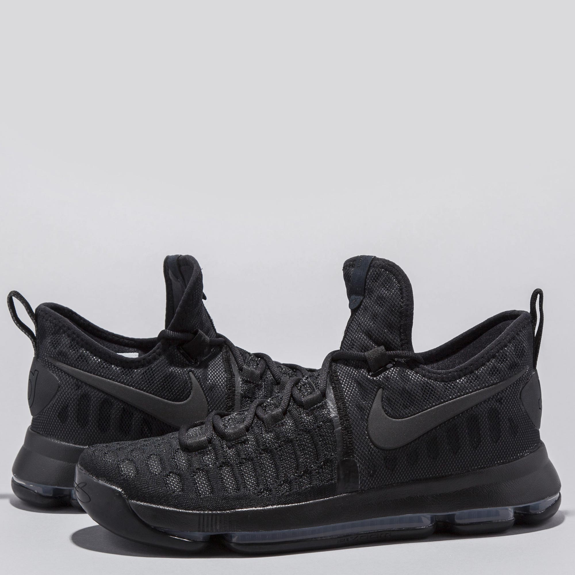 Nike Zoom KD 9 Basketball Shoe - Black/Black