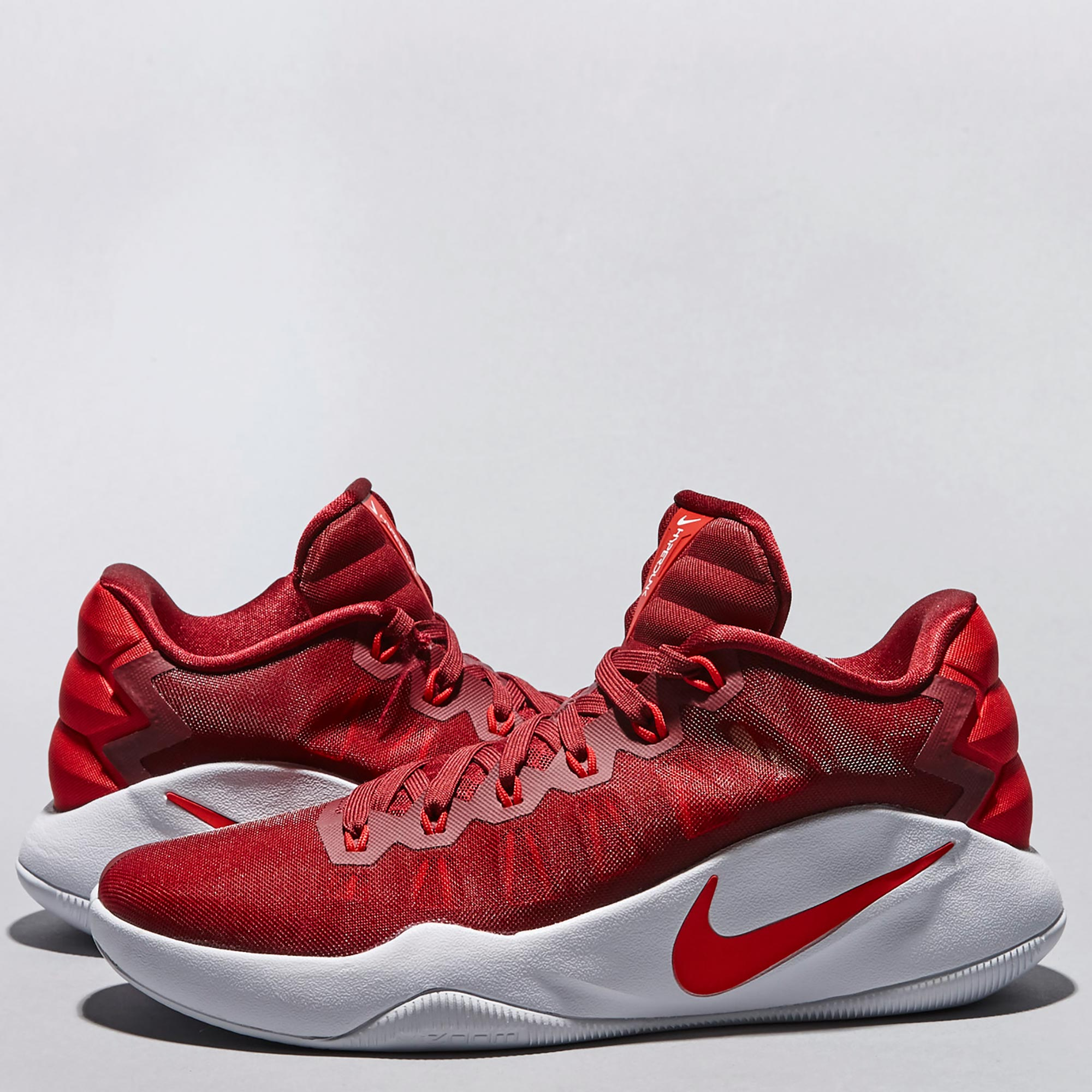 Nike Hyperdunk 2016 Low Basketball Shoe - University Red/White