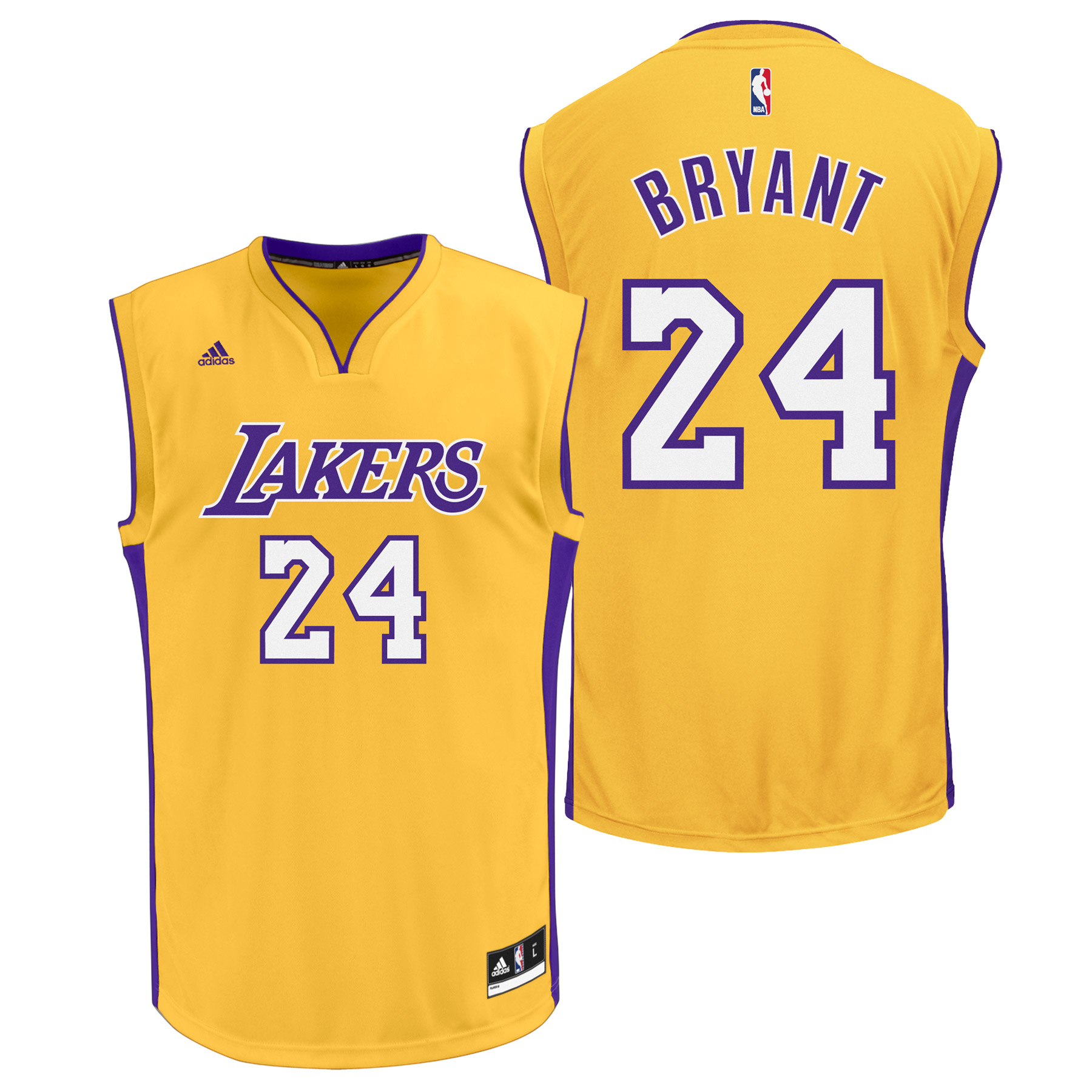 Los Angeles Lakers Home Replica Jersey - Kobe Bryant - Youth