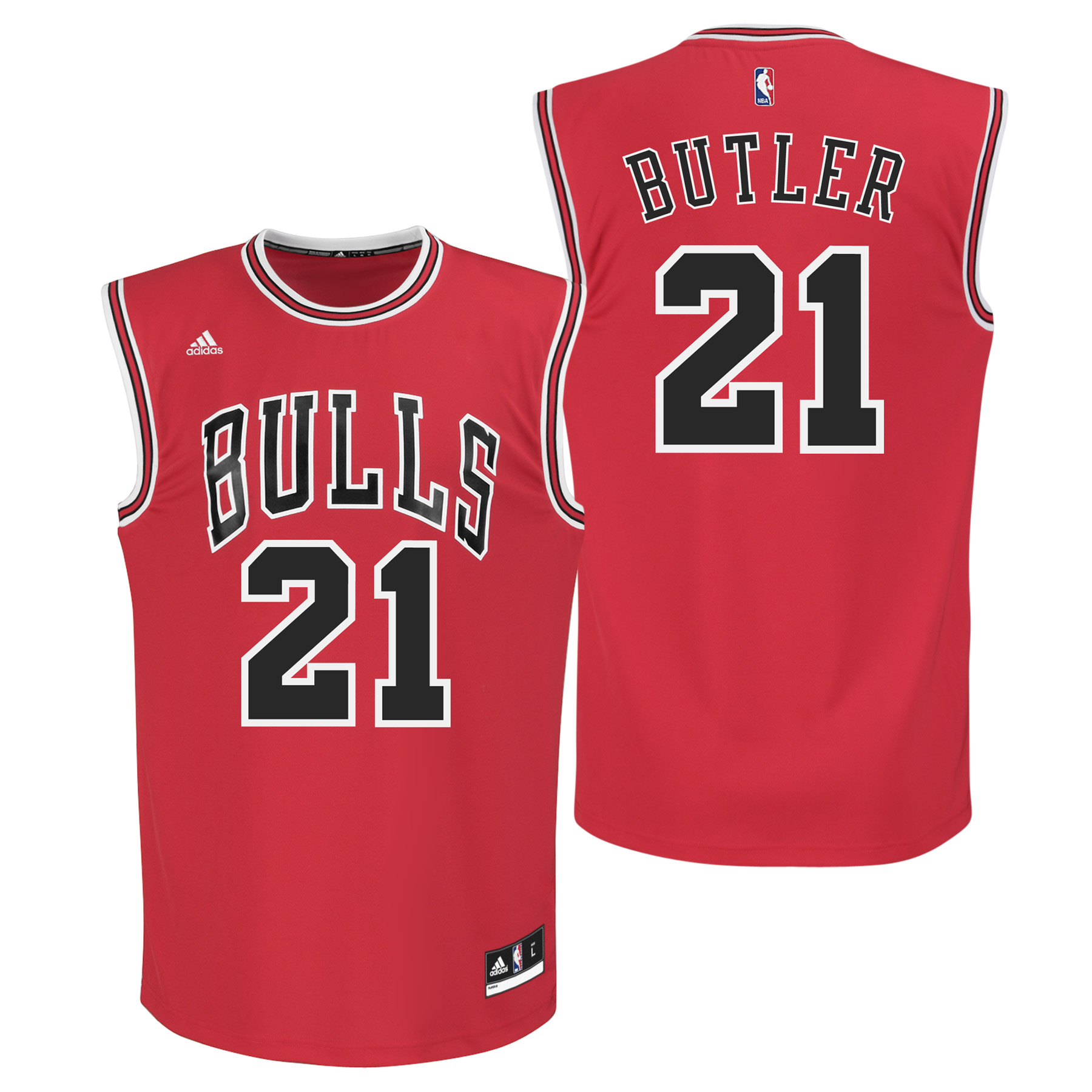 Chicago Bulls Road Replica Jersey - Jimmy Butler - Youth
