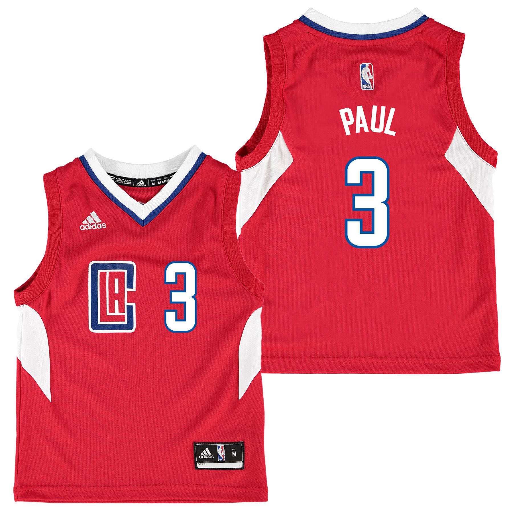 LA Clippers Road Replica Jersey - Chris Paul - Kids