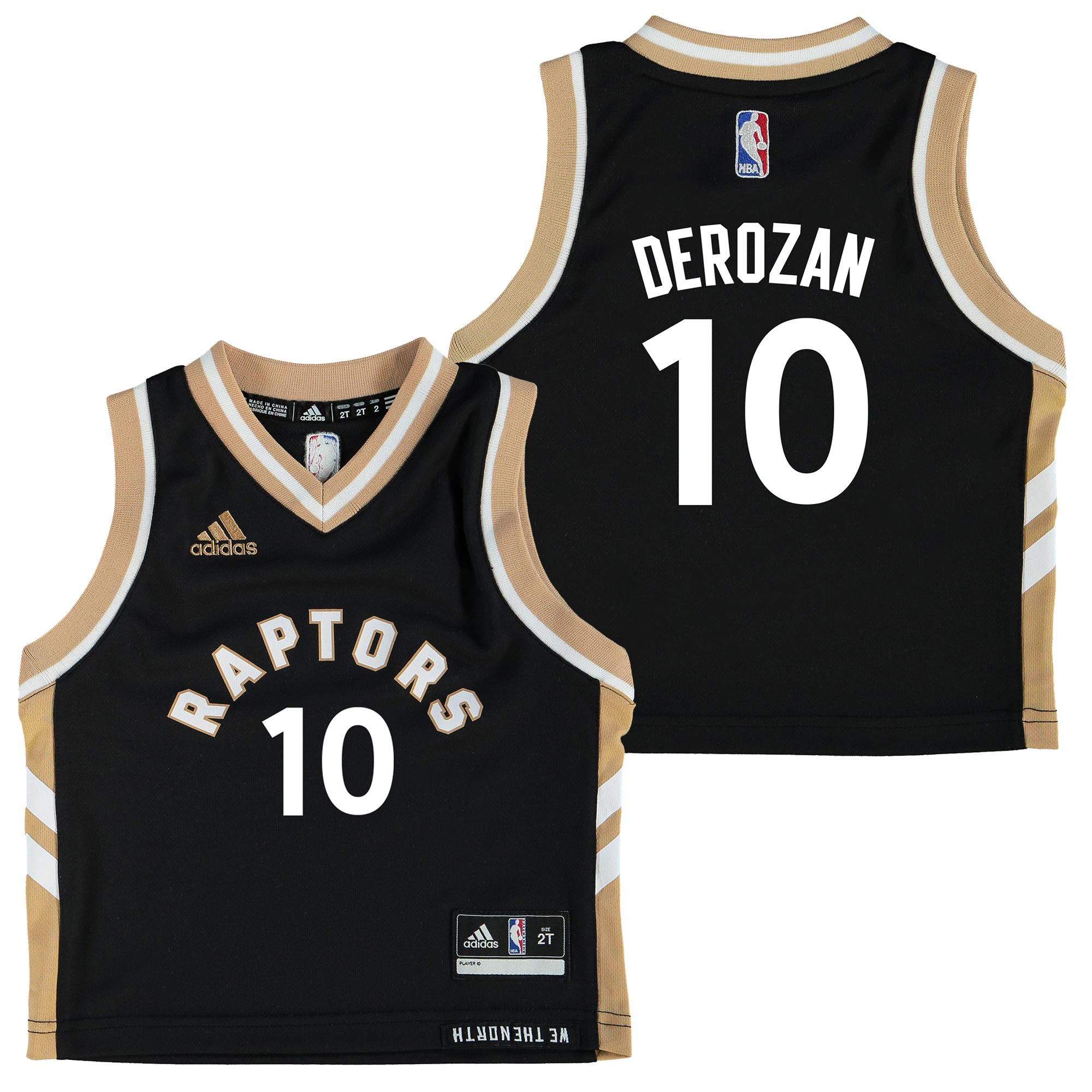 Toronto Raptors Secondary Road Alternate Replica Jersey - DeMar DeRoza
