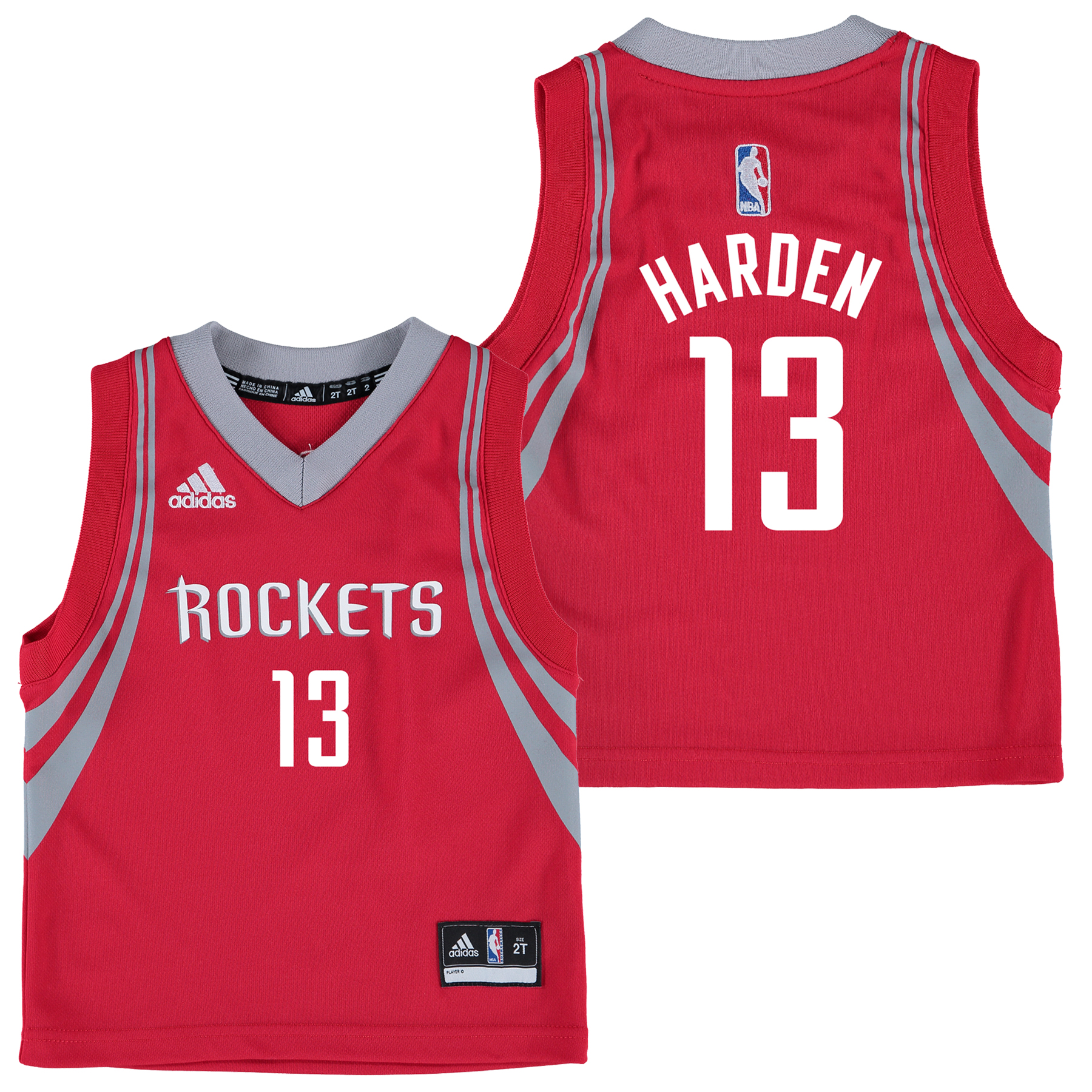 Houston Rockets Road Replica Jersey - James Harden - Kids