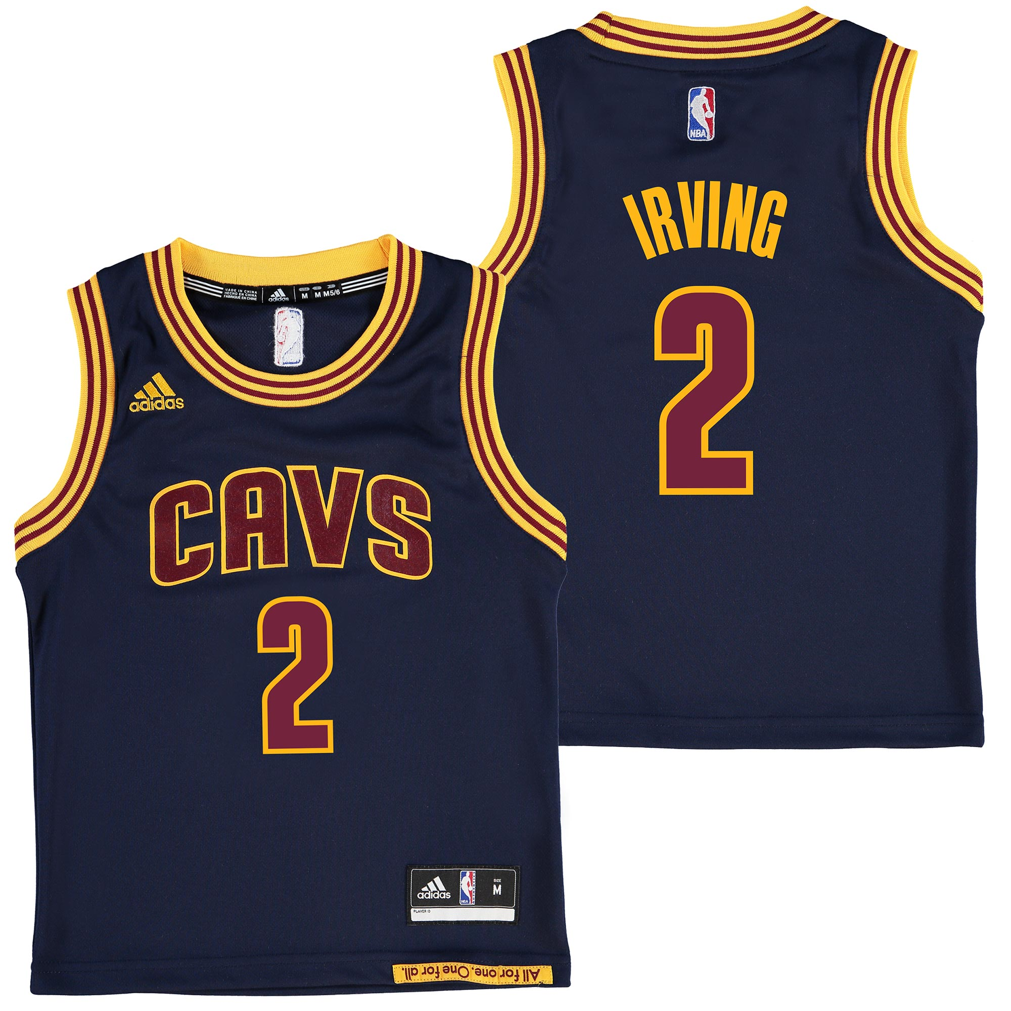 Cleveland Cavaliers Road Alternate Replica Jersey - Kyrie Irving - Kid