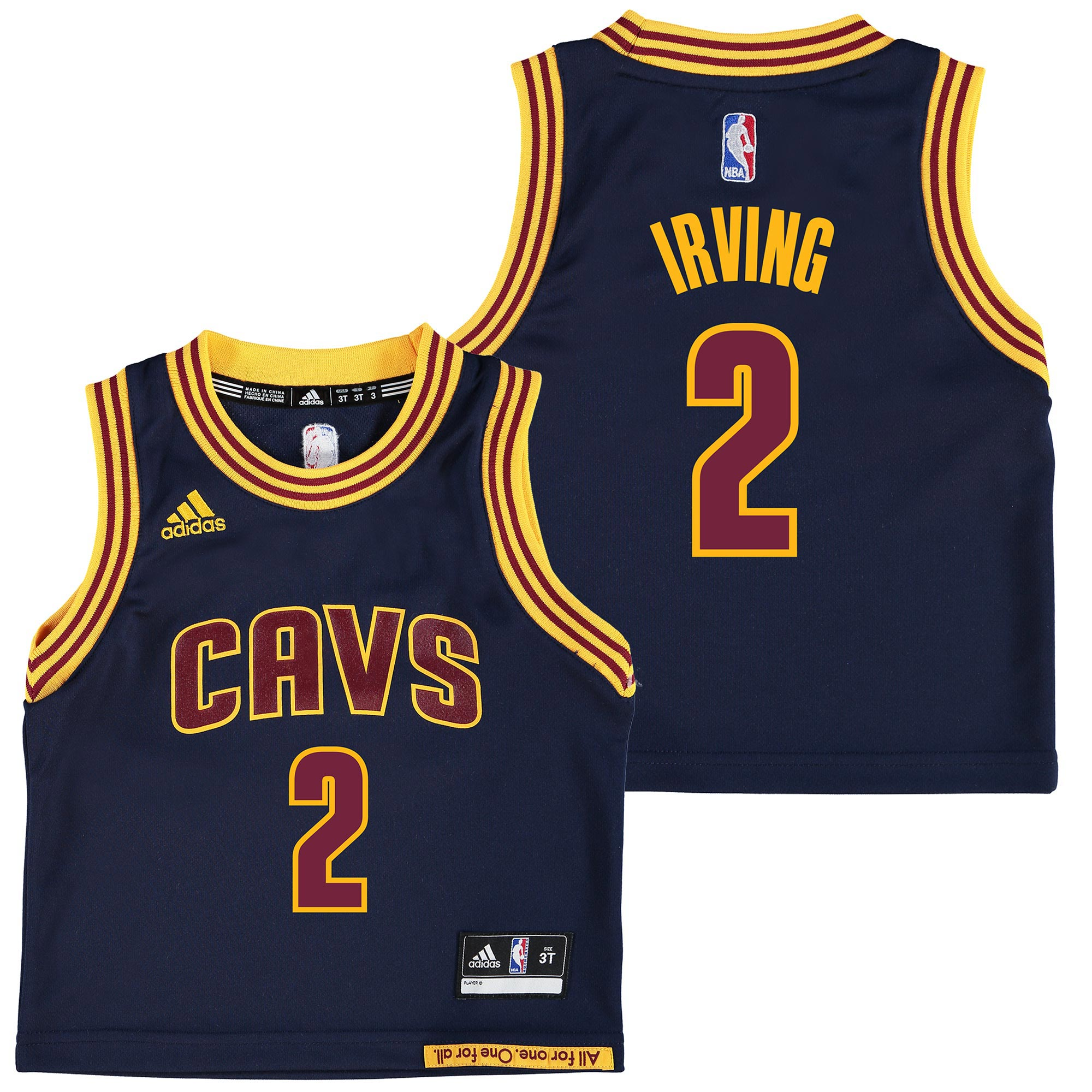 Cleveland Cavaliers Road Alternate Replica Jersey - Kyrie Irving - Tod
