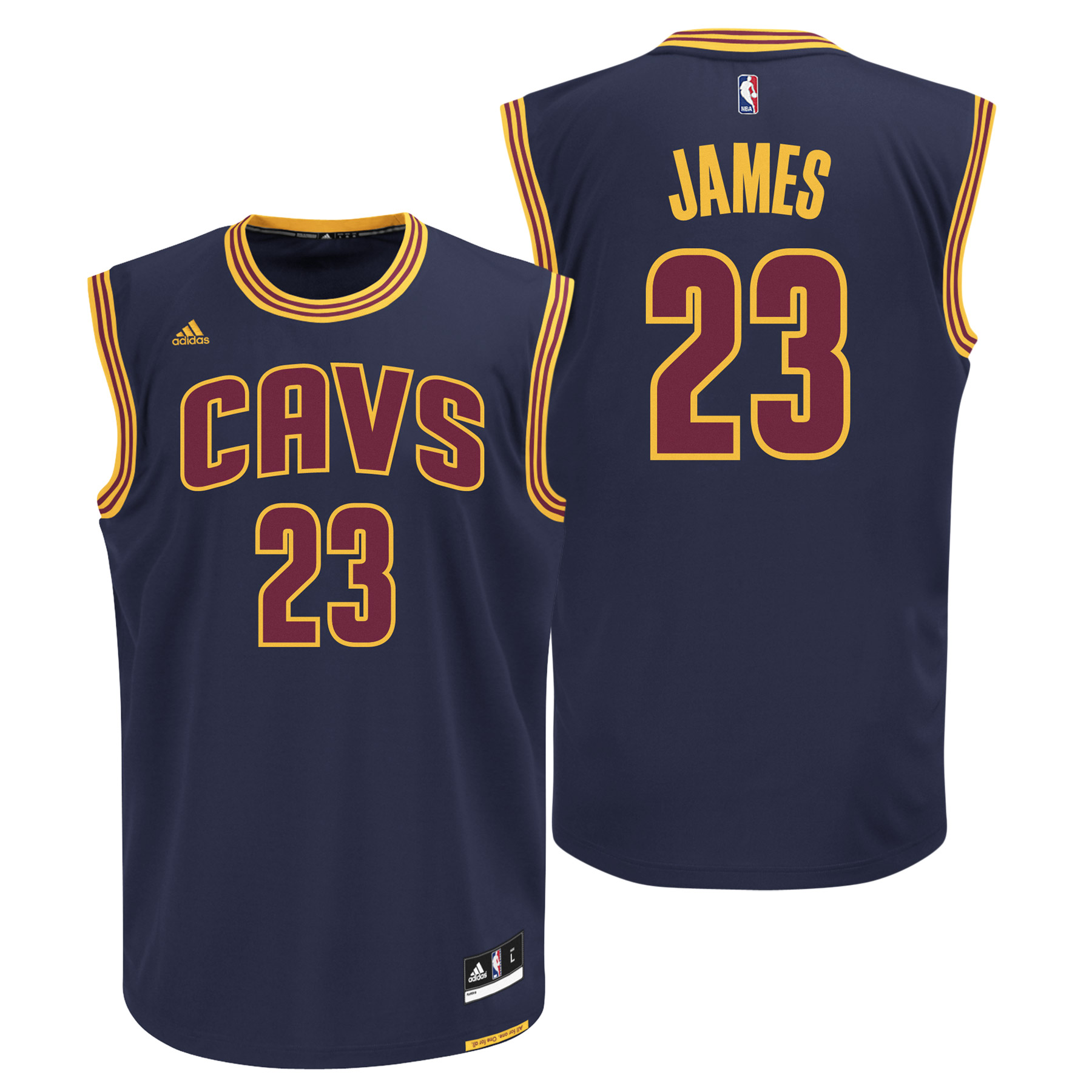 Cleveland Cavaliers Road Alternate Replica Jersey - Lebron James - You