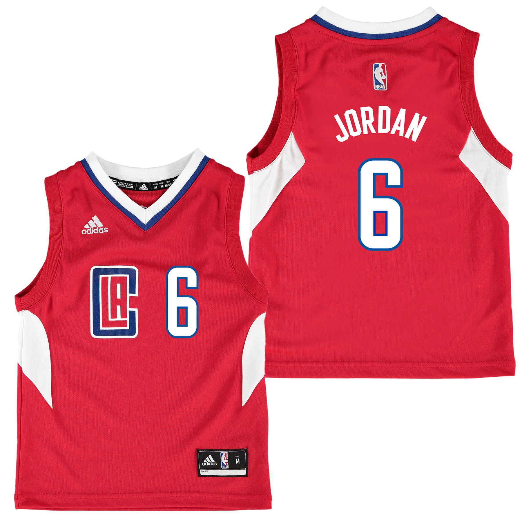 LA Clippers Road Replica Jersey - DeAndre Jordan - Kids
