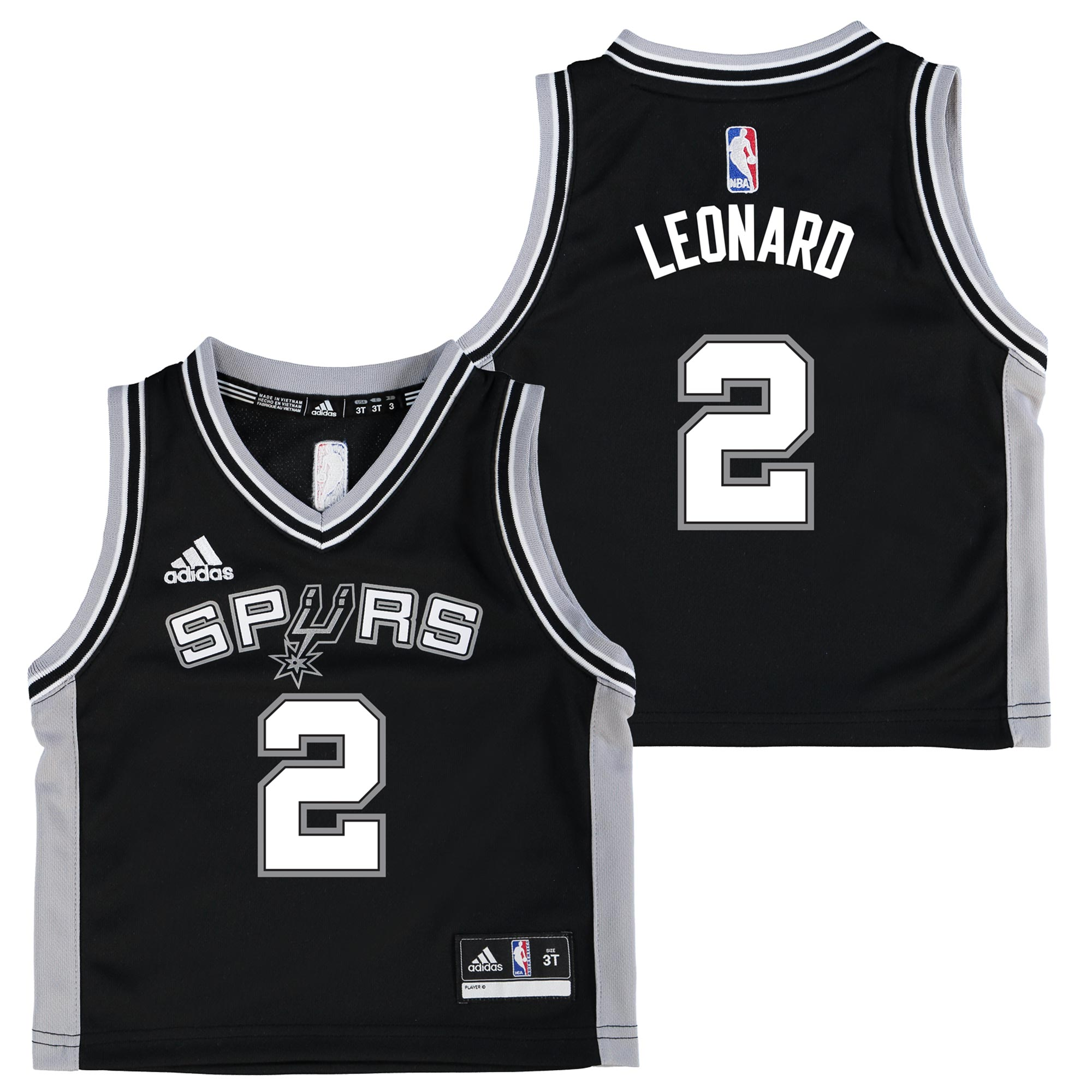 San Antonio Spurs Road Replica Jersey - Kawhi Leonard - Toddler