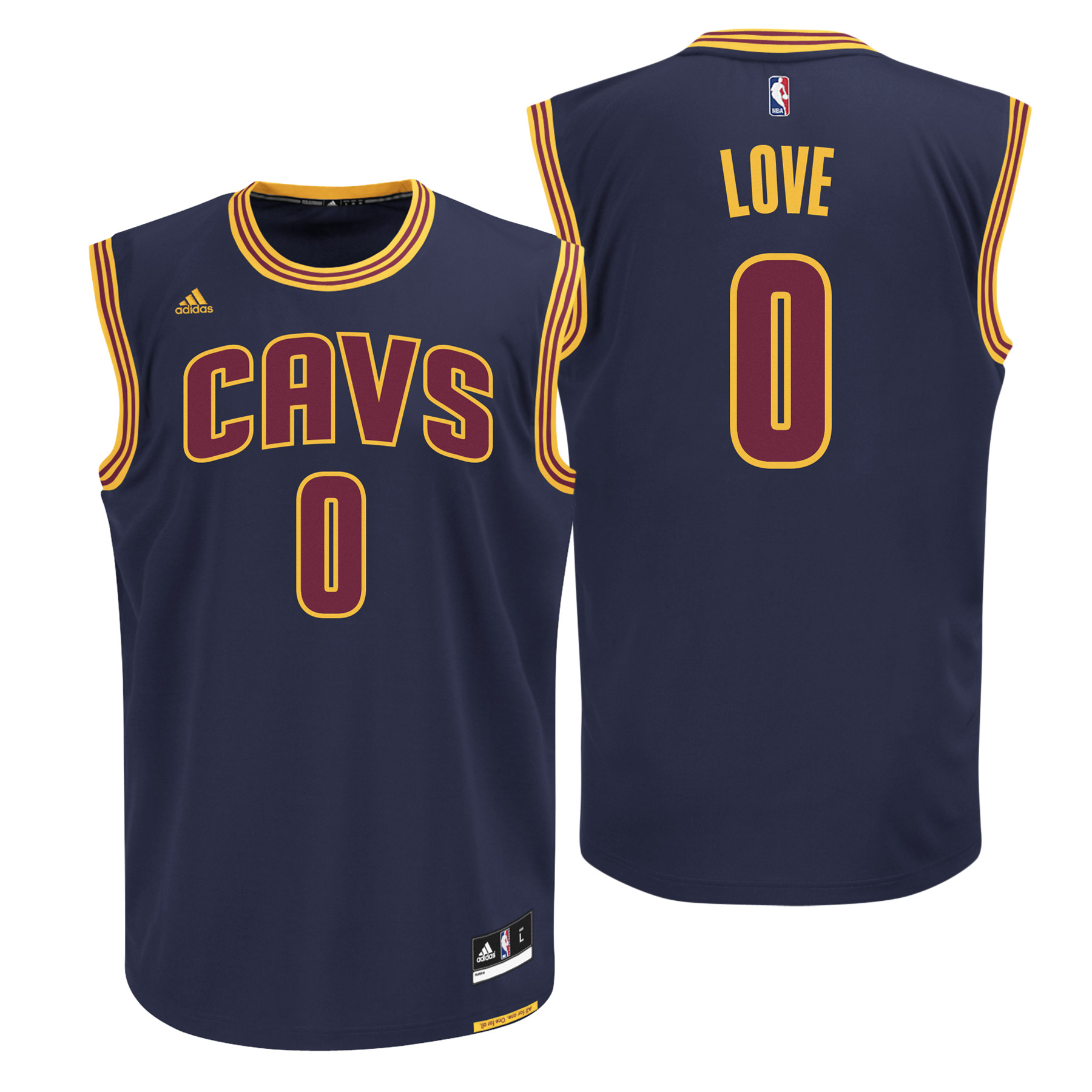 Cleveland Cavaliers Road Alternate Replica Jersey - Kevin Love - Youth