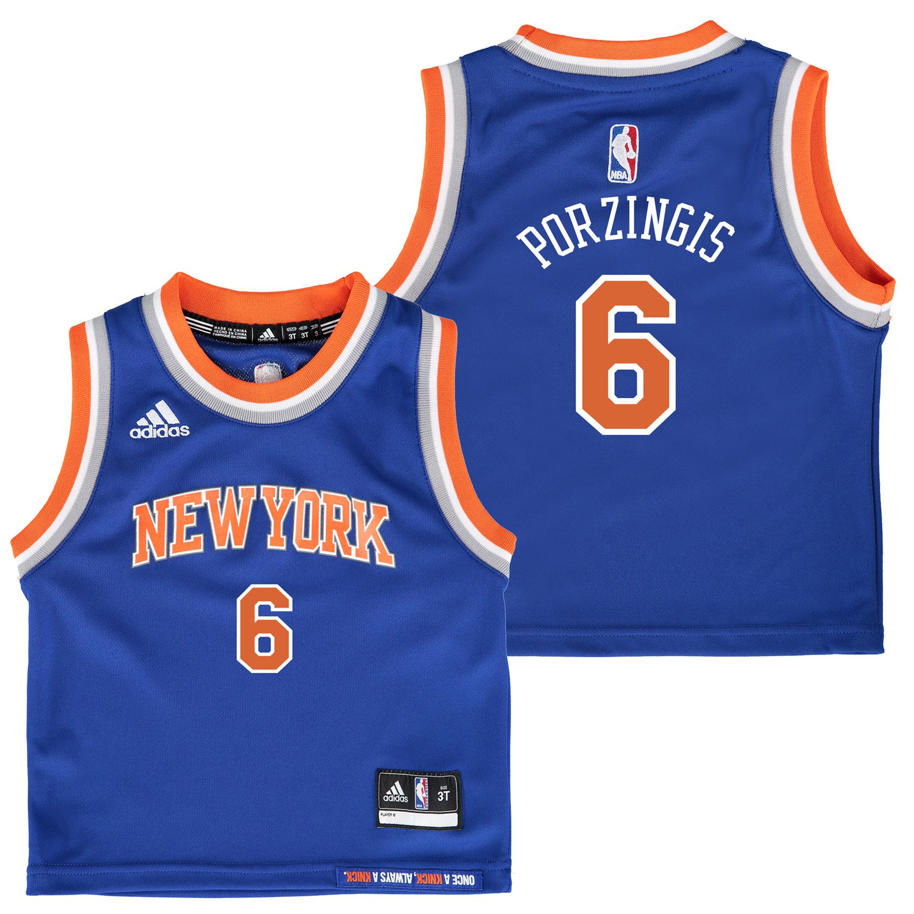 New York Knicks Road Replica Jersey - Kristaps Porzingis - Toddler