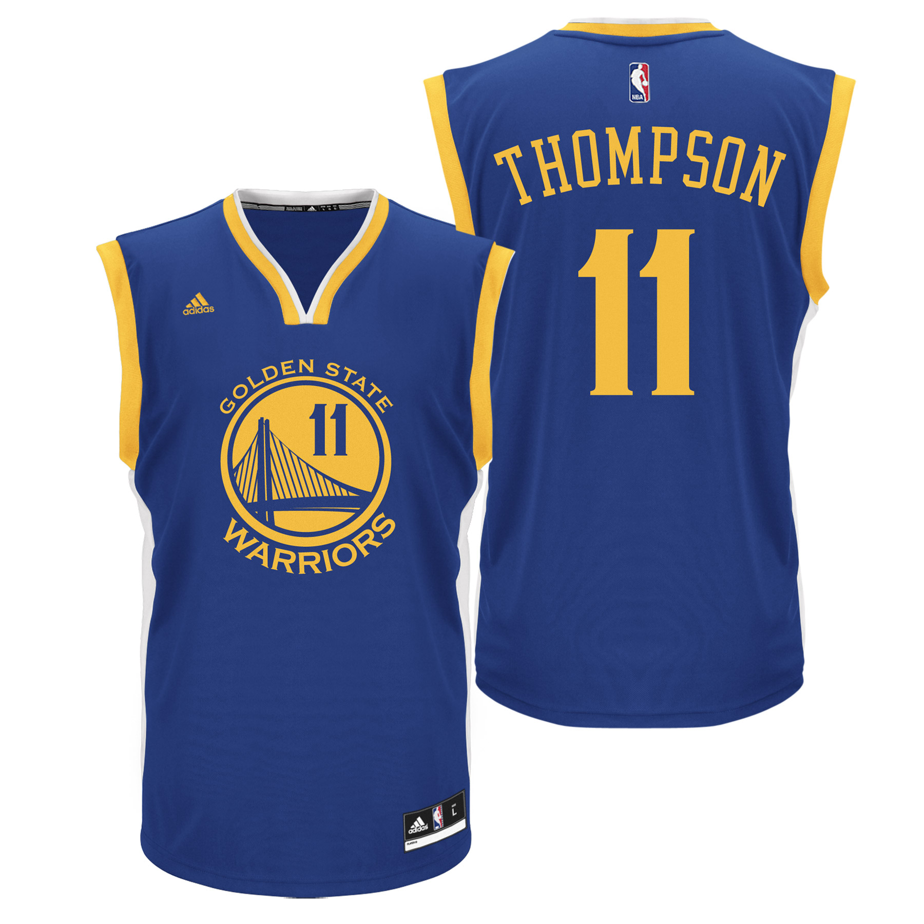 Golden State Warriors Road Replica Jersey - Klay Thompson - Youth
